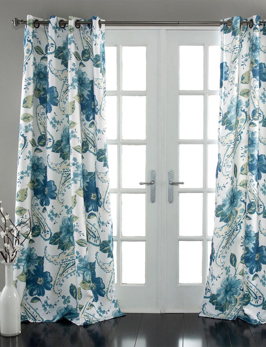 Ever Dark Blue Curtains & Drapes Window Treatments
