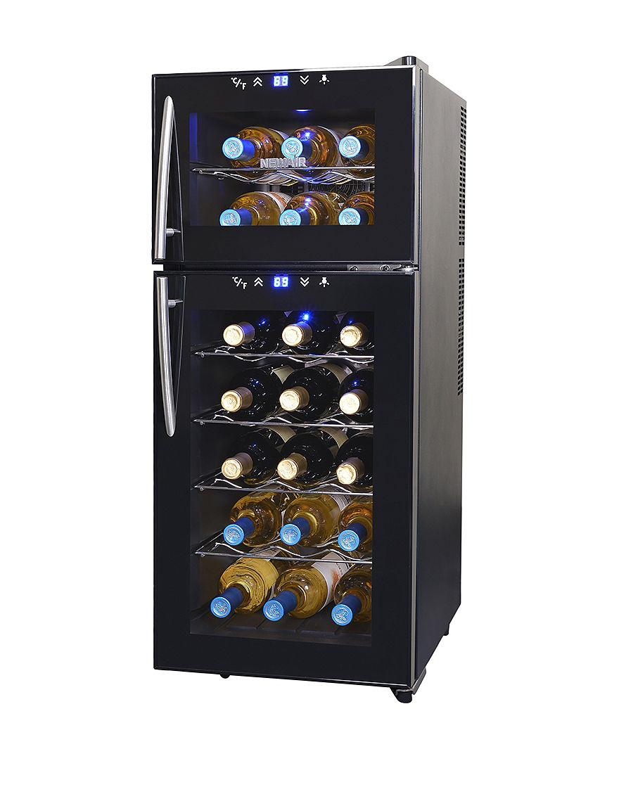 New Air Black Wine Coolers Kitchen Appliances