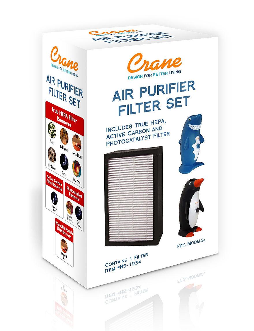 Crane White Humidifiers & Air Purifiers