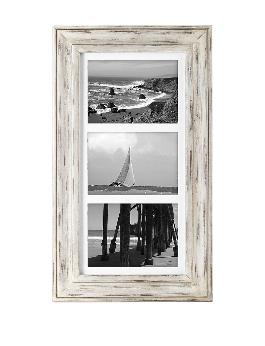 Malden White Frames & Shadow Boxes Home Accents