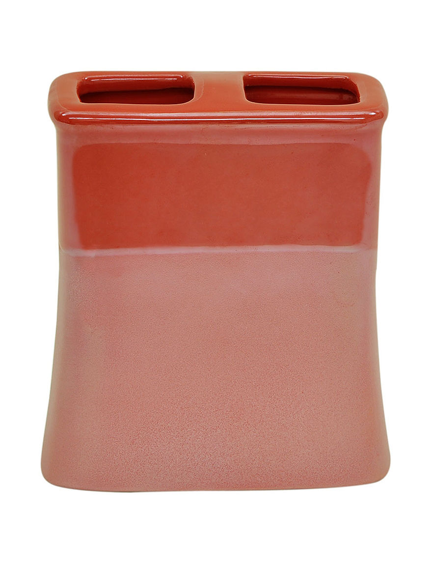Jessica Simpson Coral Toothbrush Holders Bath Accessories