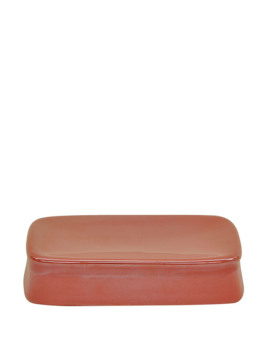 Jessica Simpson Coral Soap Dishes Bath Accessories