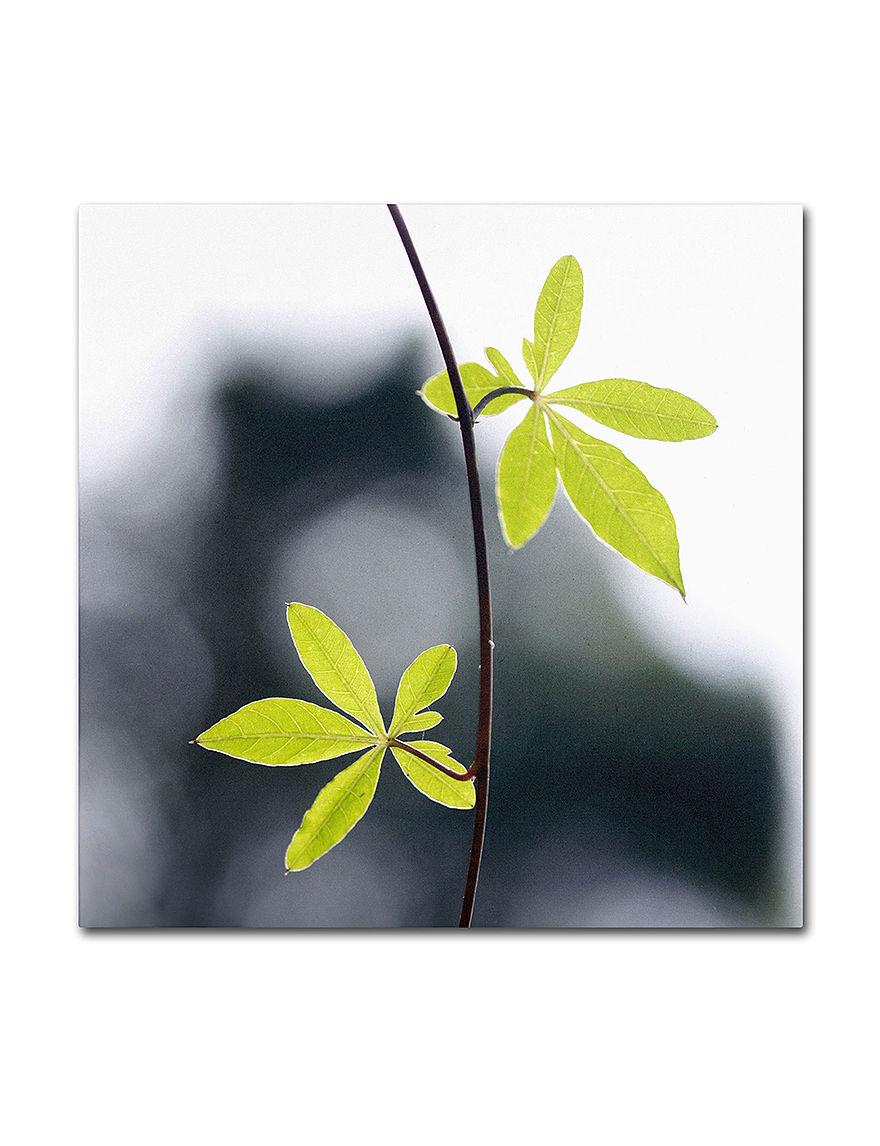 Trademark Fine Art Lime Green Wall Art Wall Decor