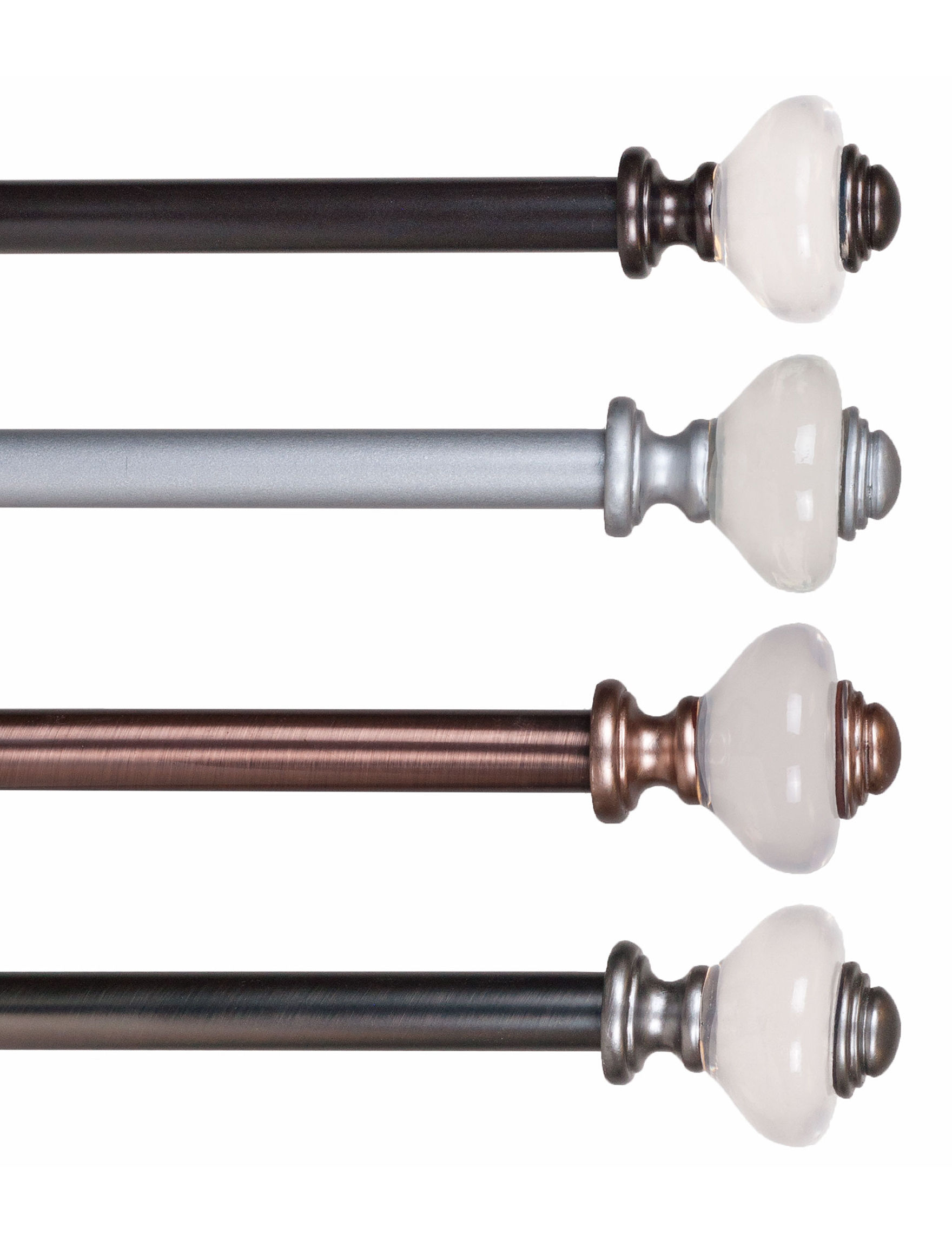 Lavish Home Copper Curtain Rods & Hardware Window Treatments