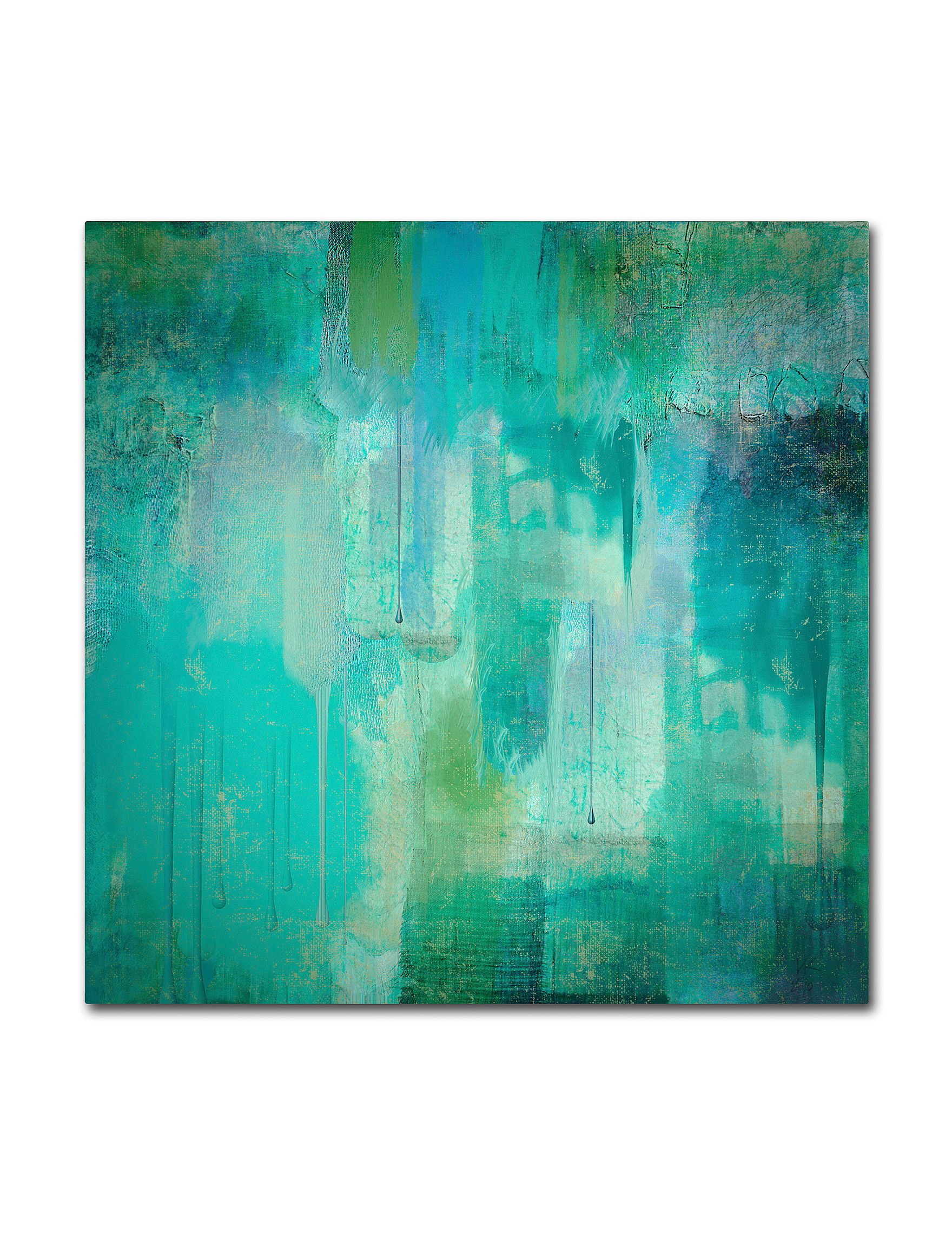Trademark Fine Art Turquoise Wall Art Wall Decor