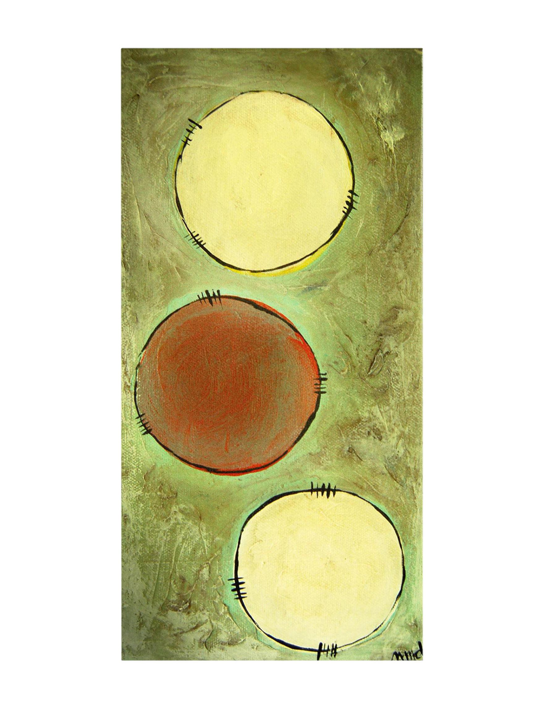 Trademark Fine Art Green Wall Art Wall Decor
