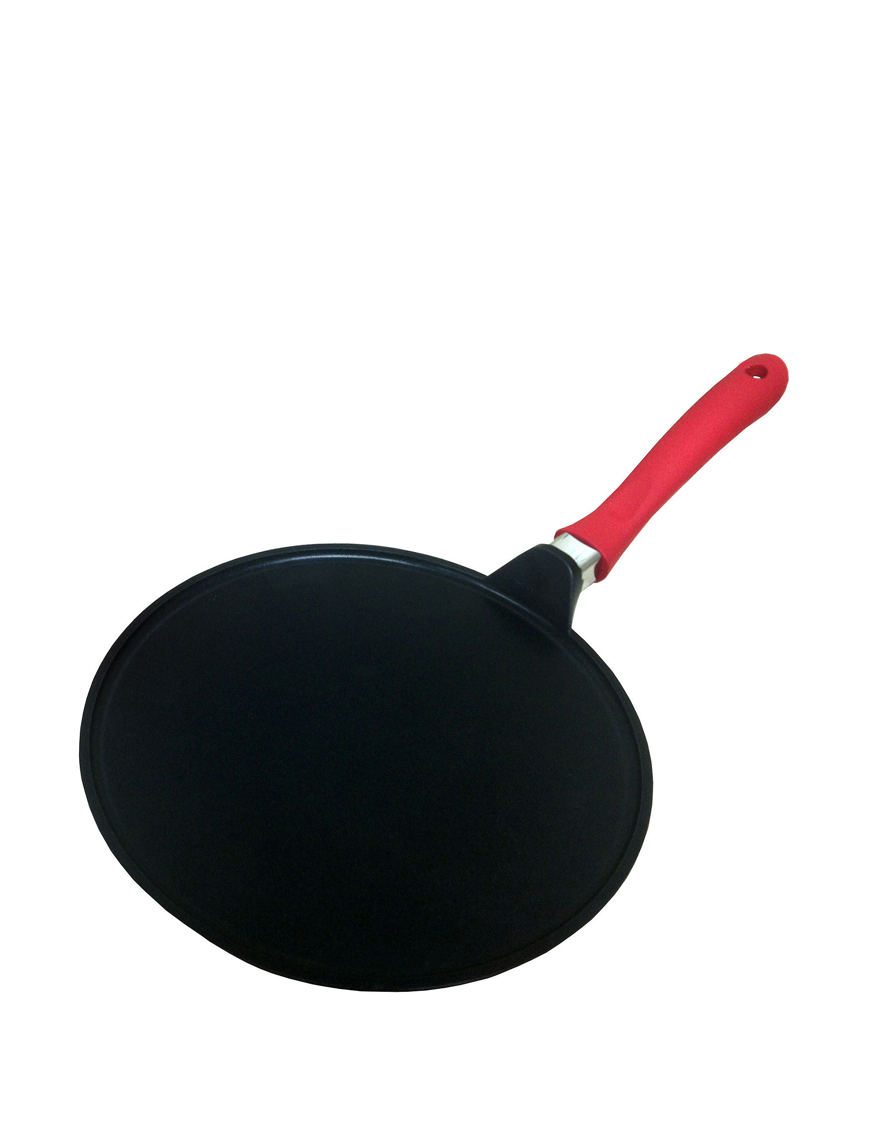 IMUSA Black / Red Frying Pans & Skillets Cookware
