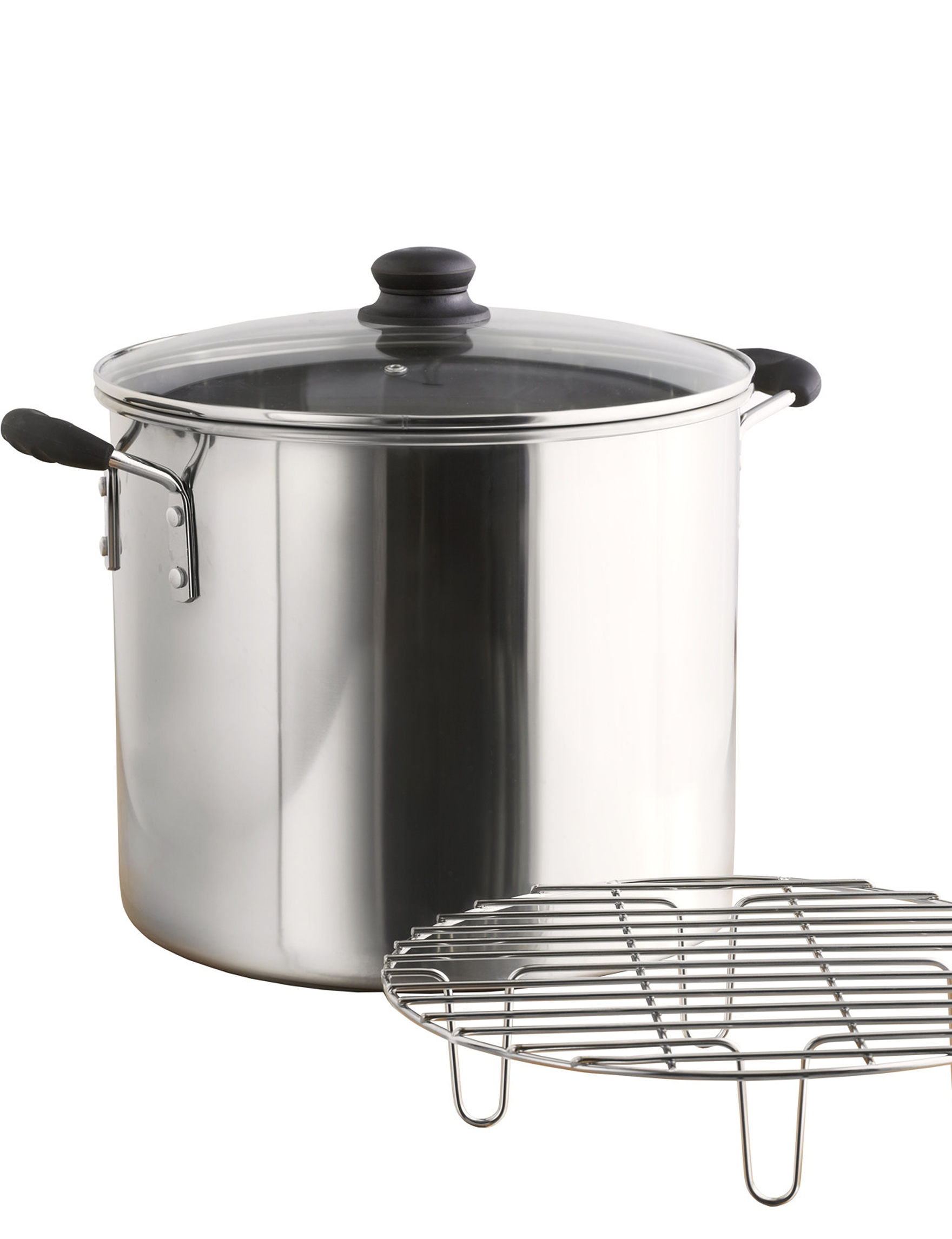 IMUSA Silver Double Boilers & Steamers Cookware
