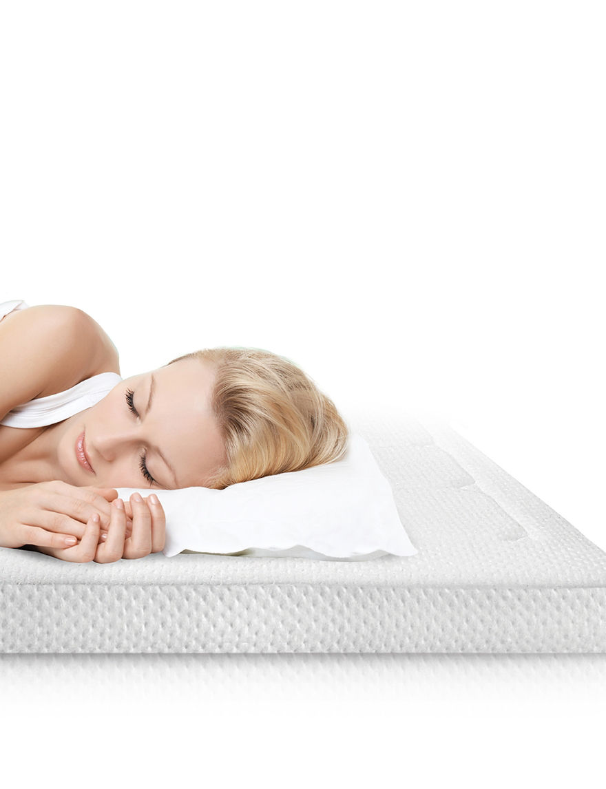 Sensorpedic White Mattresses Mattress Pads & Toppers