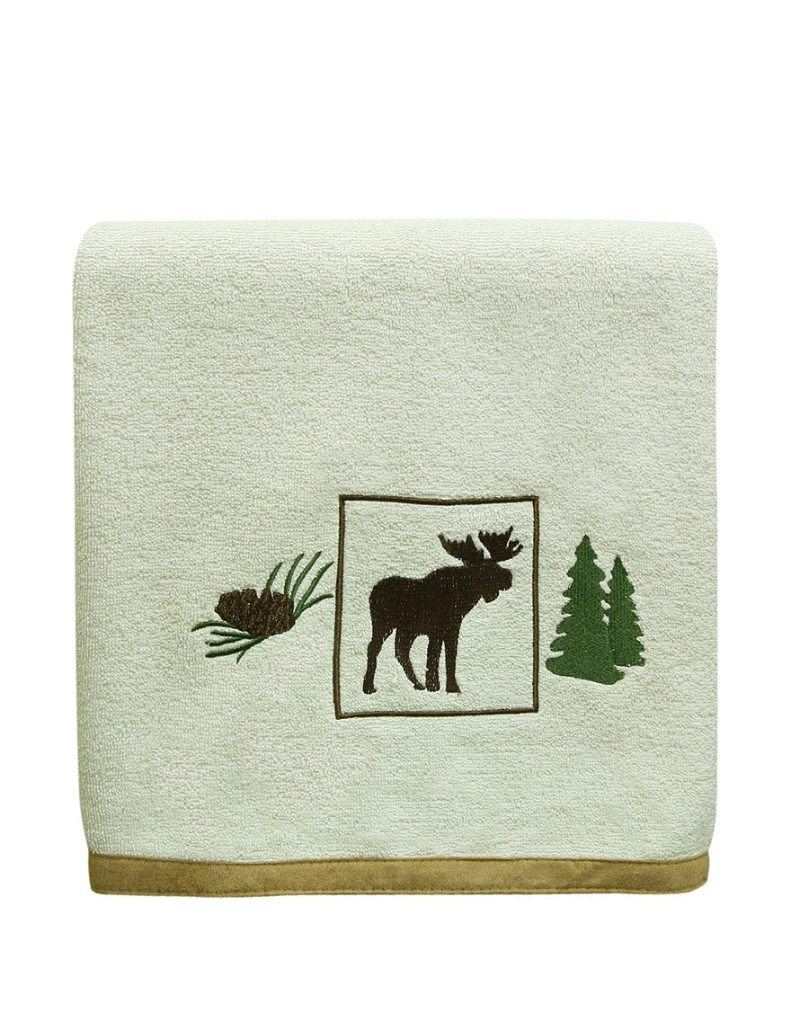 Bacova Guild Ivory Bath Towels