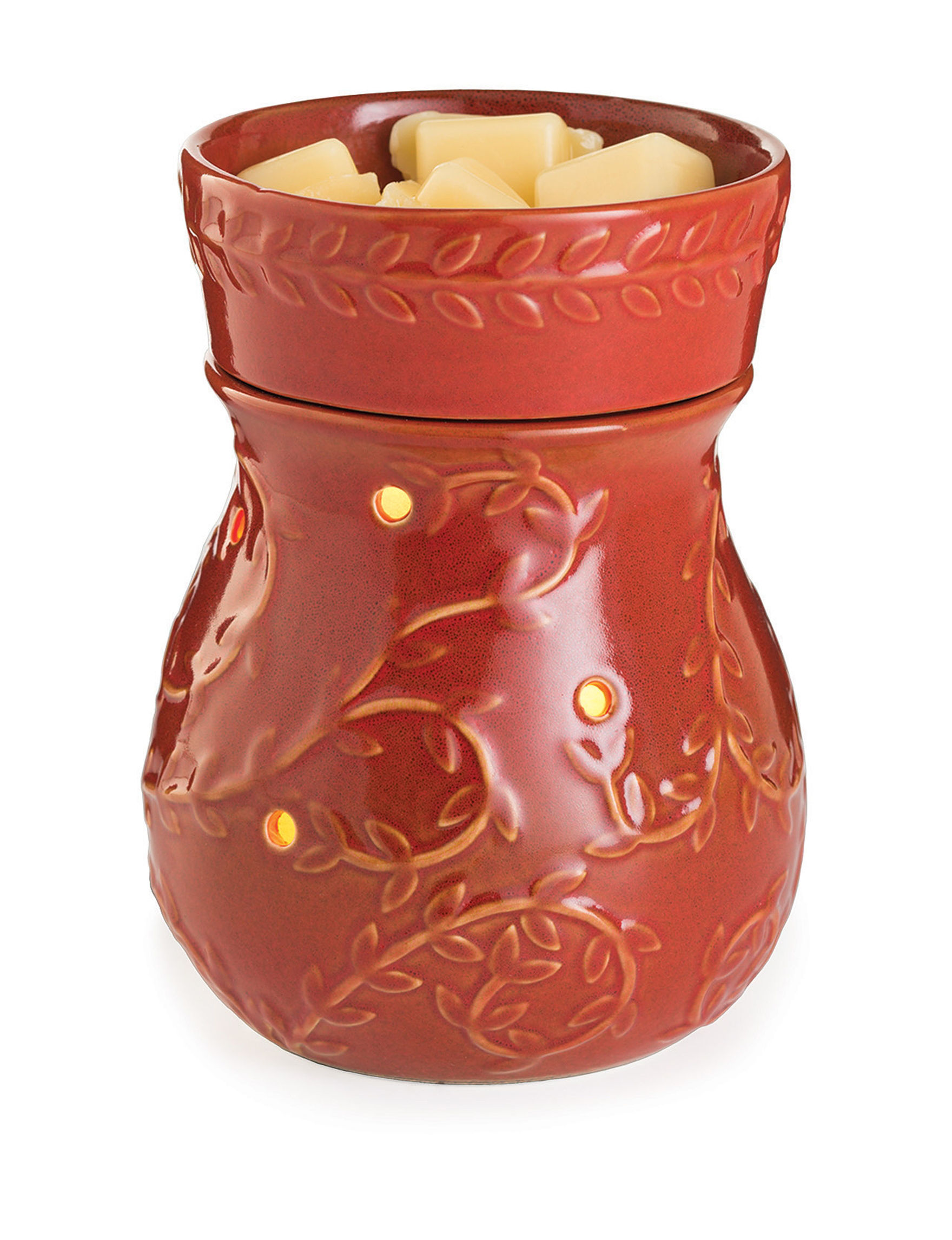 Candle Warmers Red Warmers & Plug Ins Candles & Diffusers Home Accents