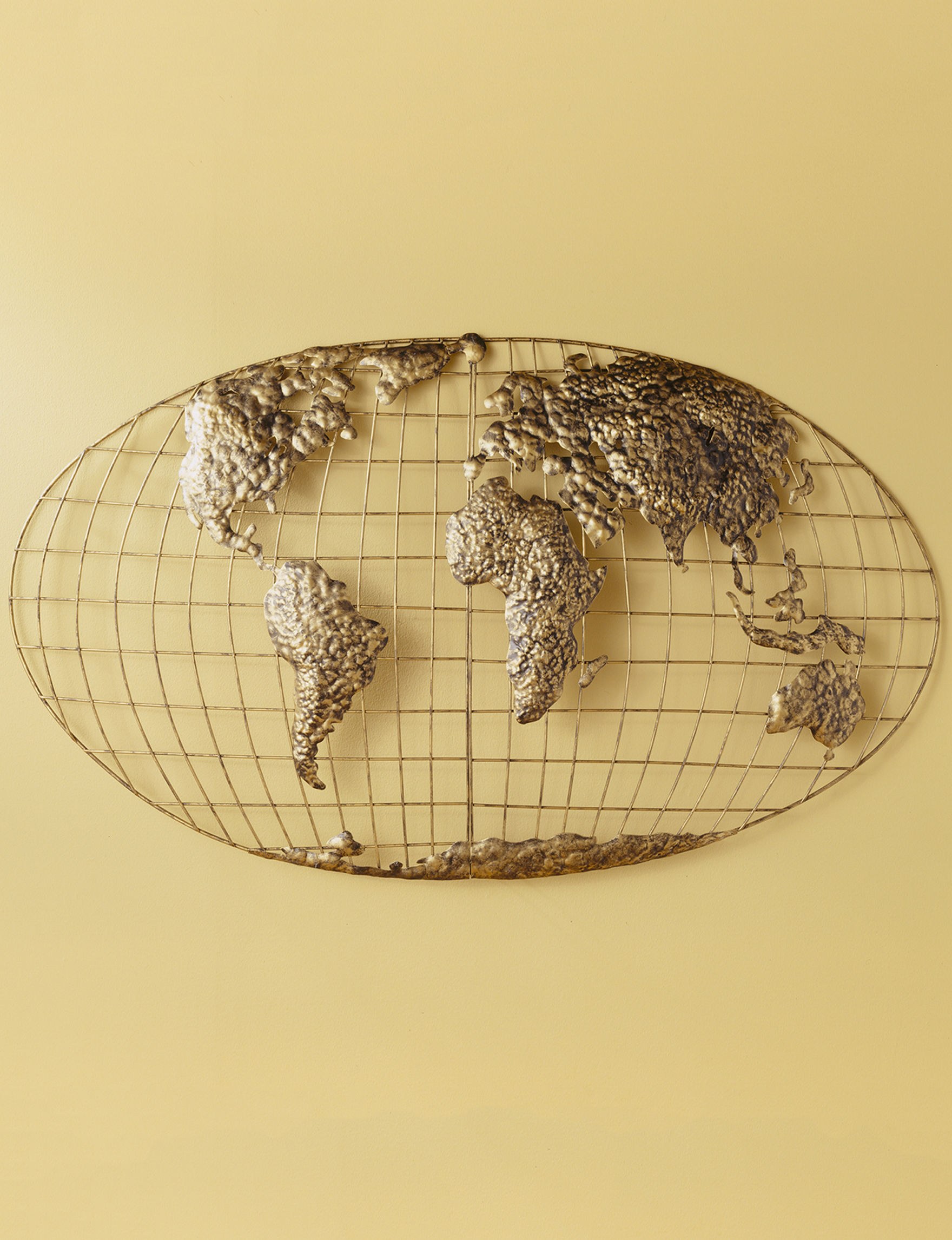 southern enterprises iron world map wall art stage stores