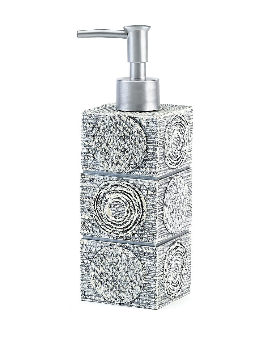 Avanti Silver Soap & Lotion Dispensers Bath Accessories