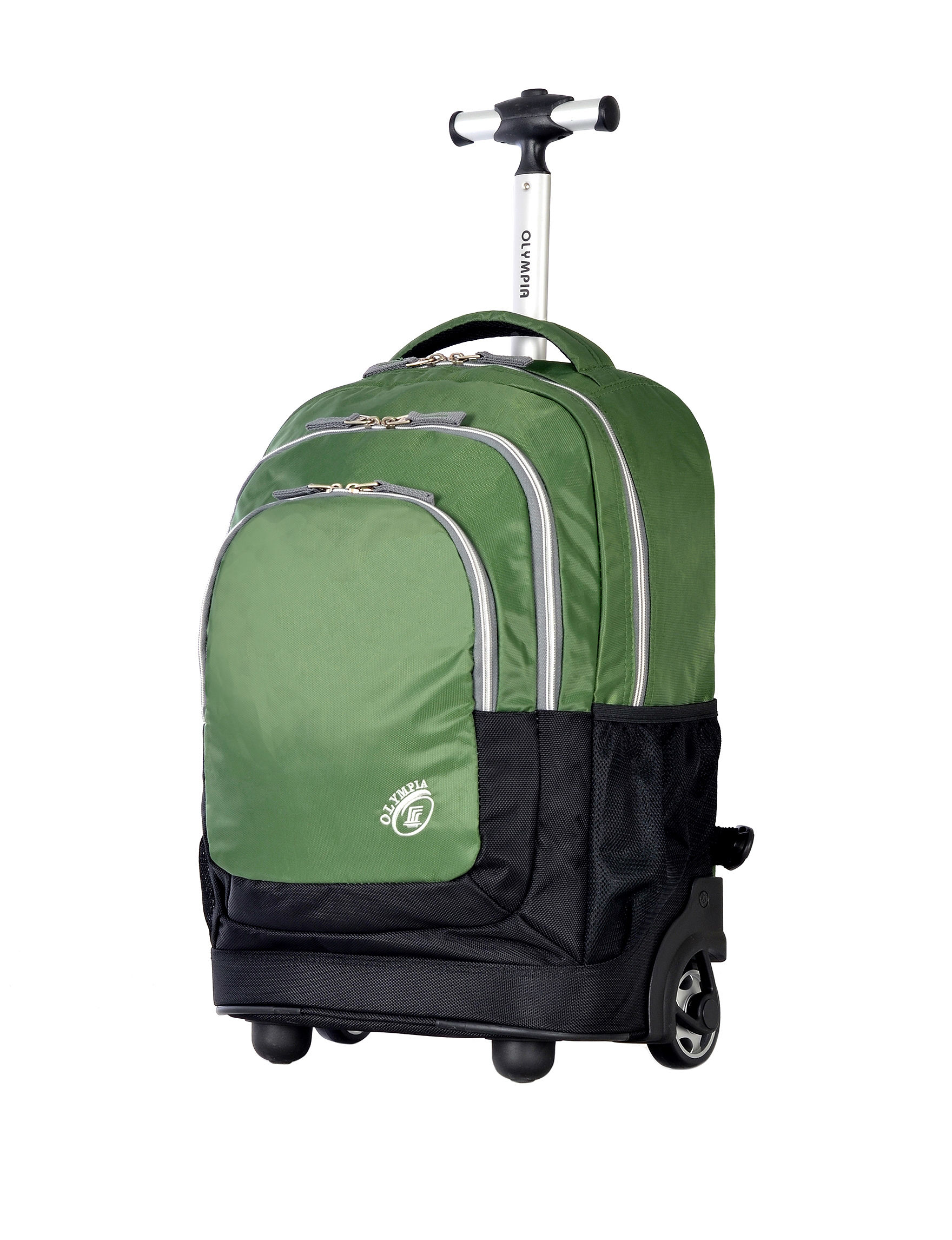 Olympia Green Upright Spinners