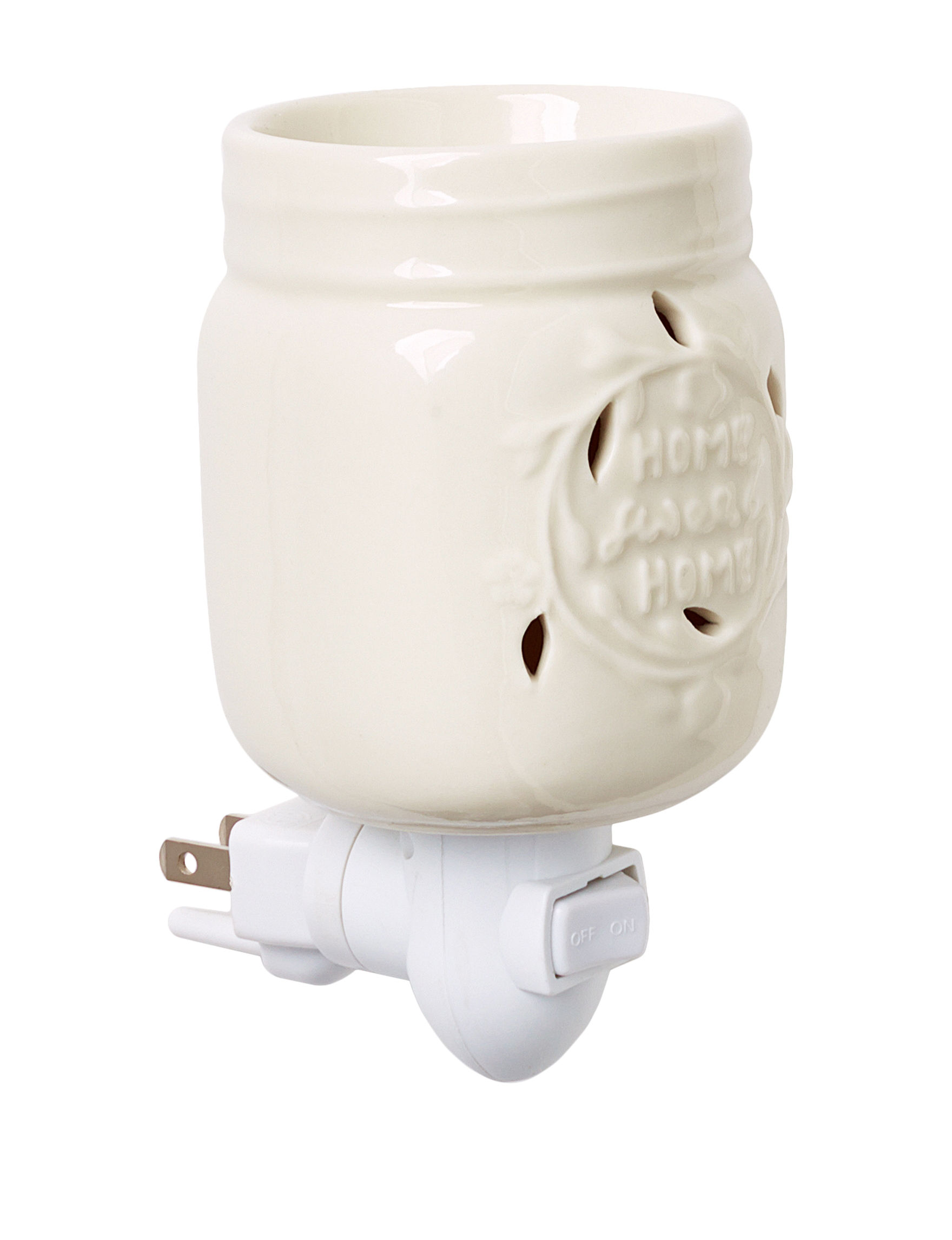 Candle Warmers White Warmers & Plug Ins Candles & Diffusers