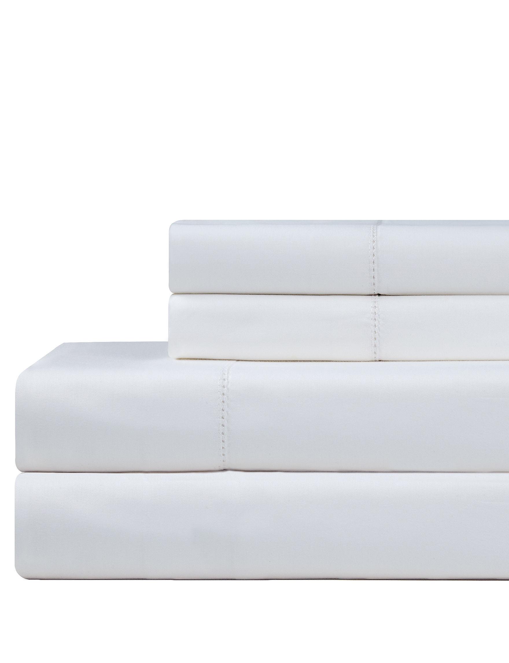 Celeste Home White Sheets & Pillowcases