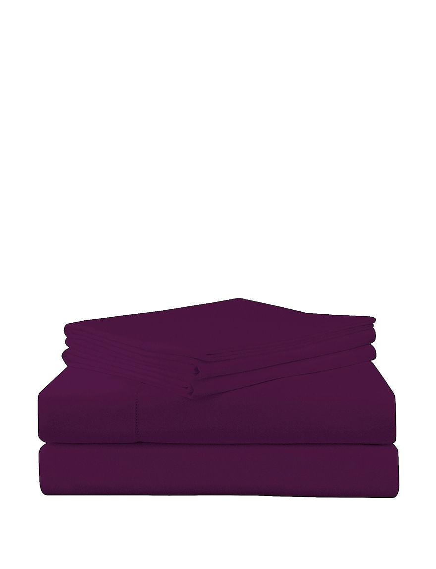 Pointehaven Plum Sheets & Pillowcases