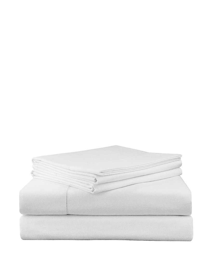 Pointehaven White Sheets & Pillowcases