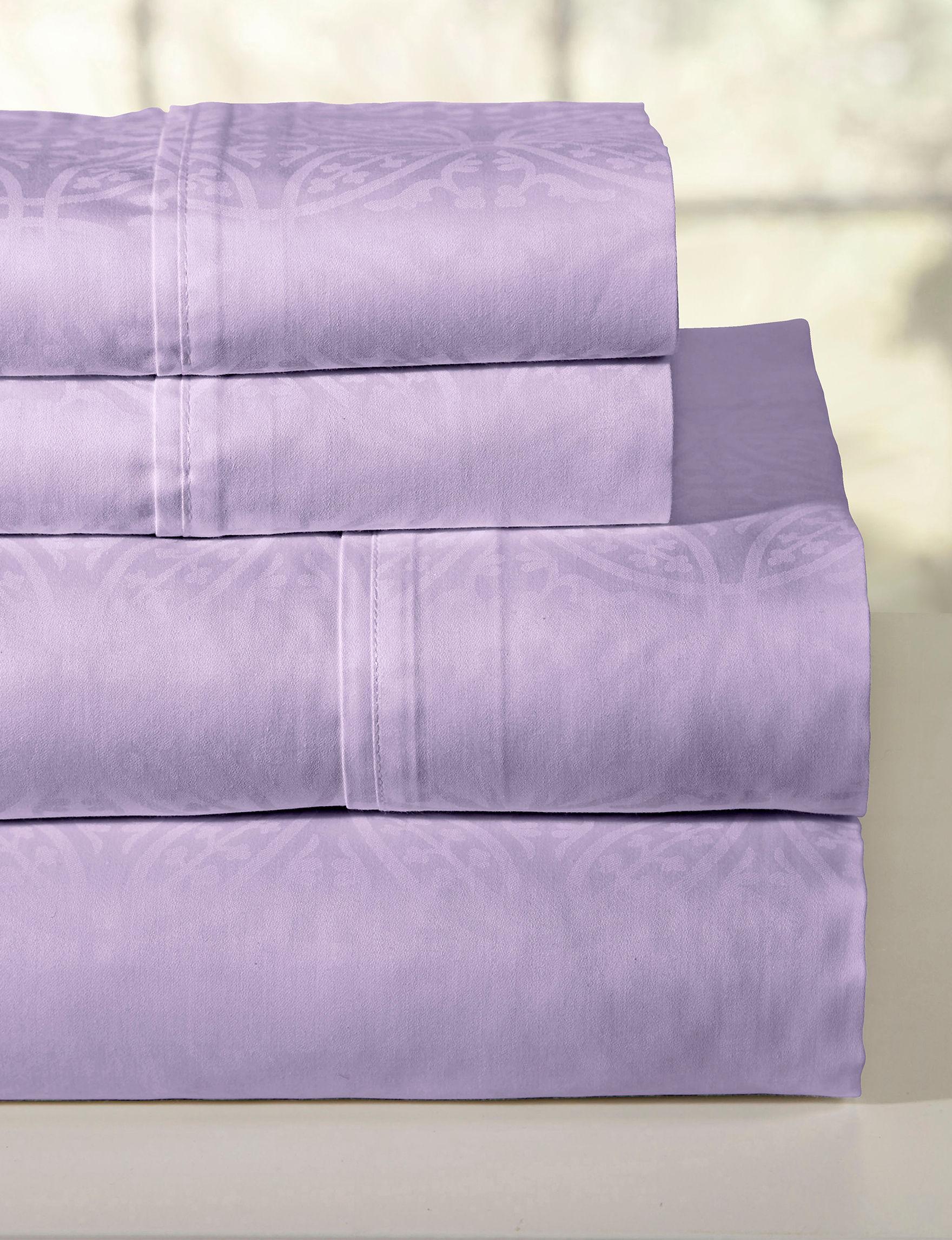 Pointehaven Lavender Sheets & Pillowcases