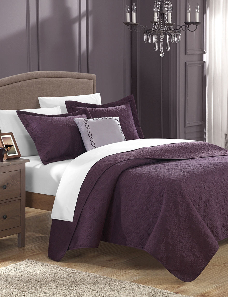 home decorators collection quilt set chic home design argeles collection plum quilt set stage 12876