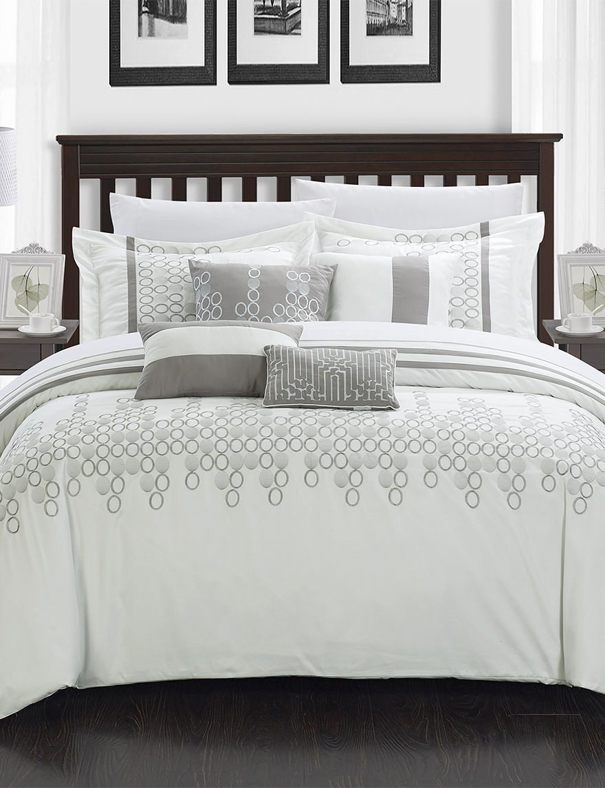 Chic Home Design 8-pc. Laurie Oversized Comforter Set | Stage Stores