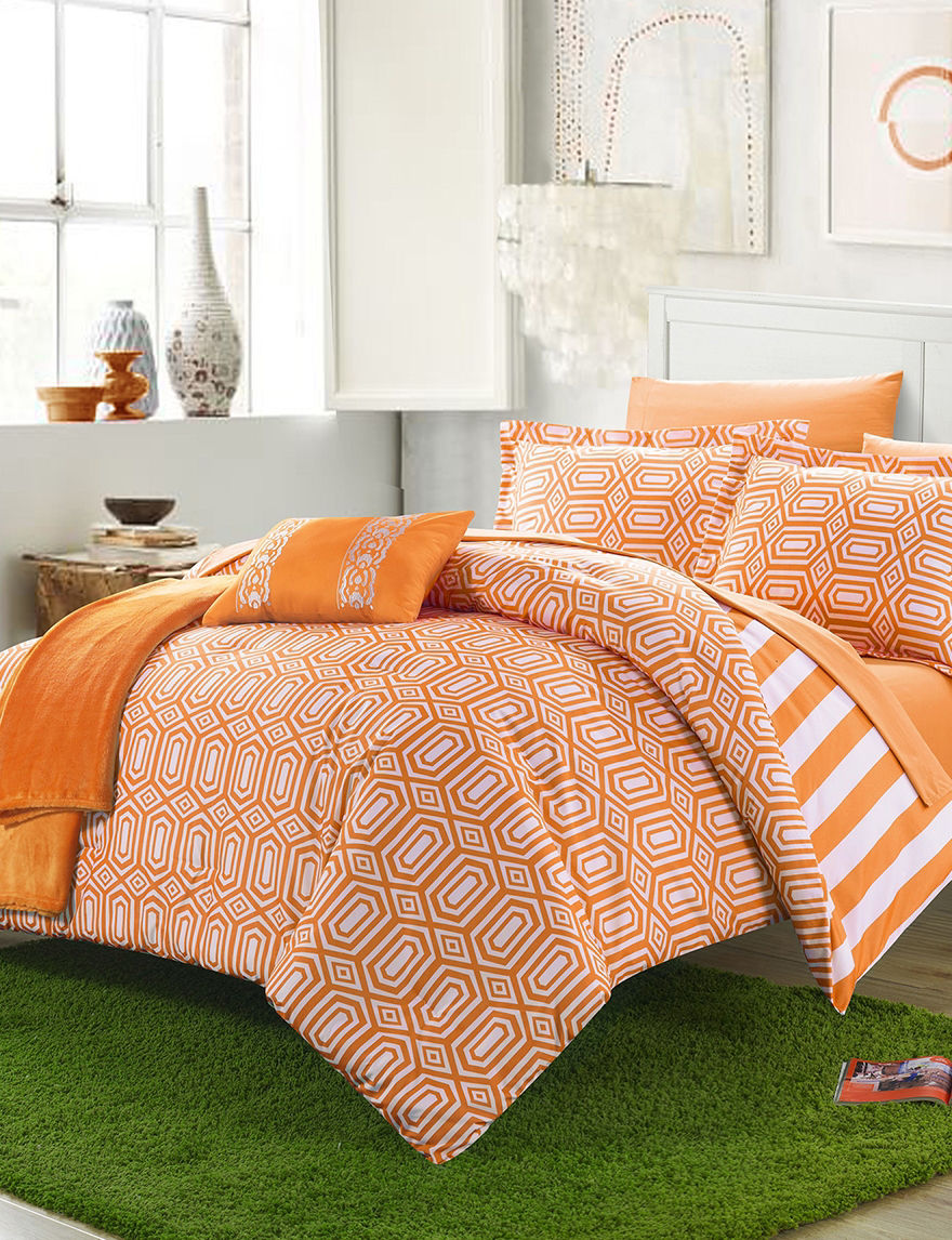 Chic Home Design Orange Comforters & Comforter Sets