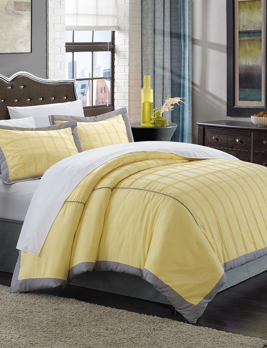 Chic Home Design Yellow Duvets & Duvet Sets