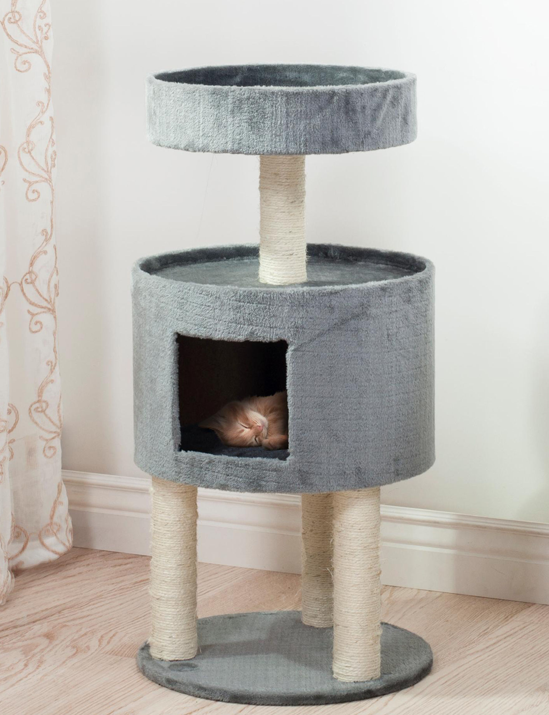 Paw Gray Pet Beds & Houses