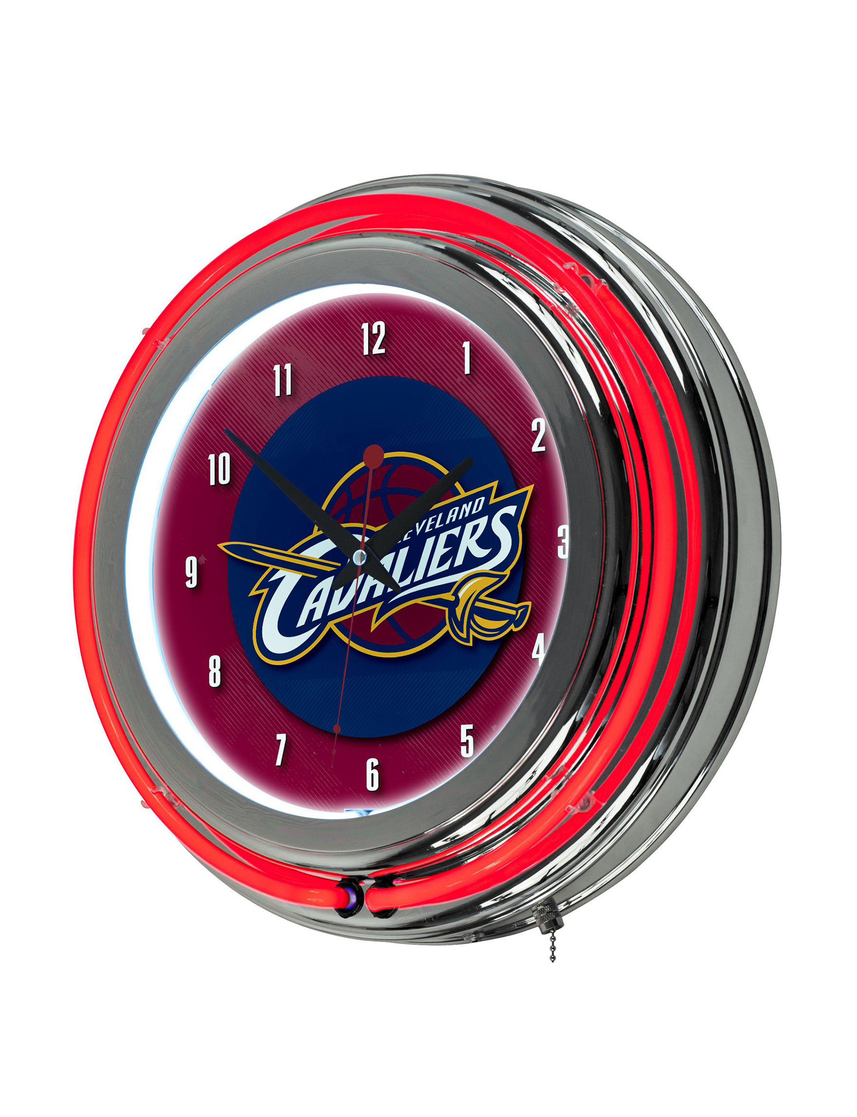 NBA Blue/ Red Home Accents Wall Art Home Accents NBA Wall Decor