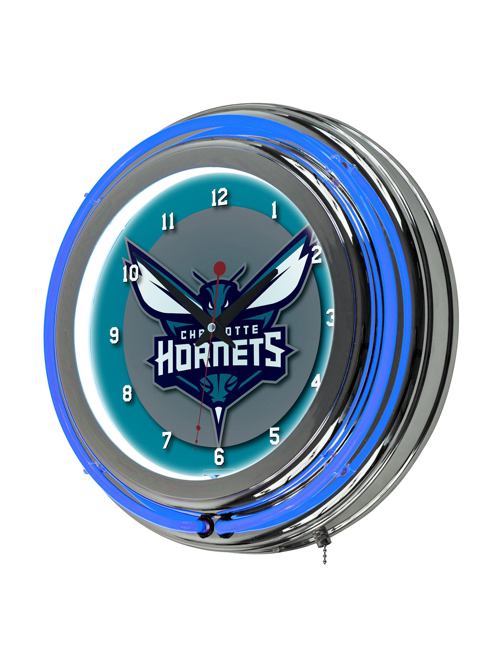 NBA Grey / Blue Home Accents Wall Art Home Accents Wall Decor