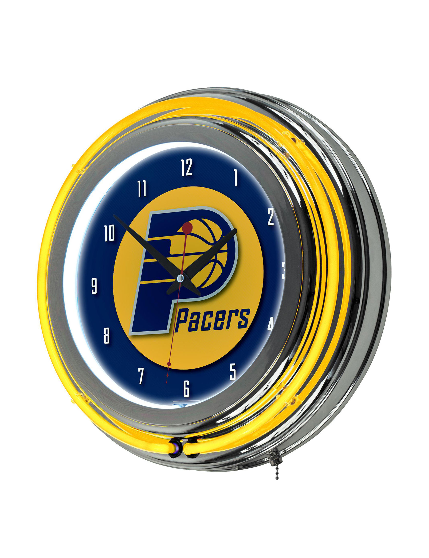 NBA Yellow / Blue Home Accents Wall Art Home Accents Wall Decor