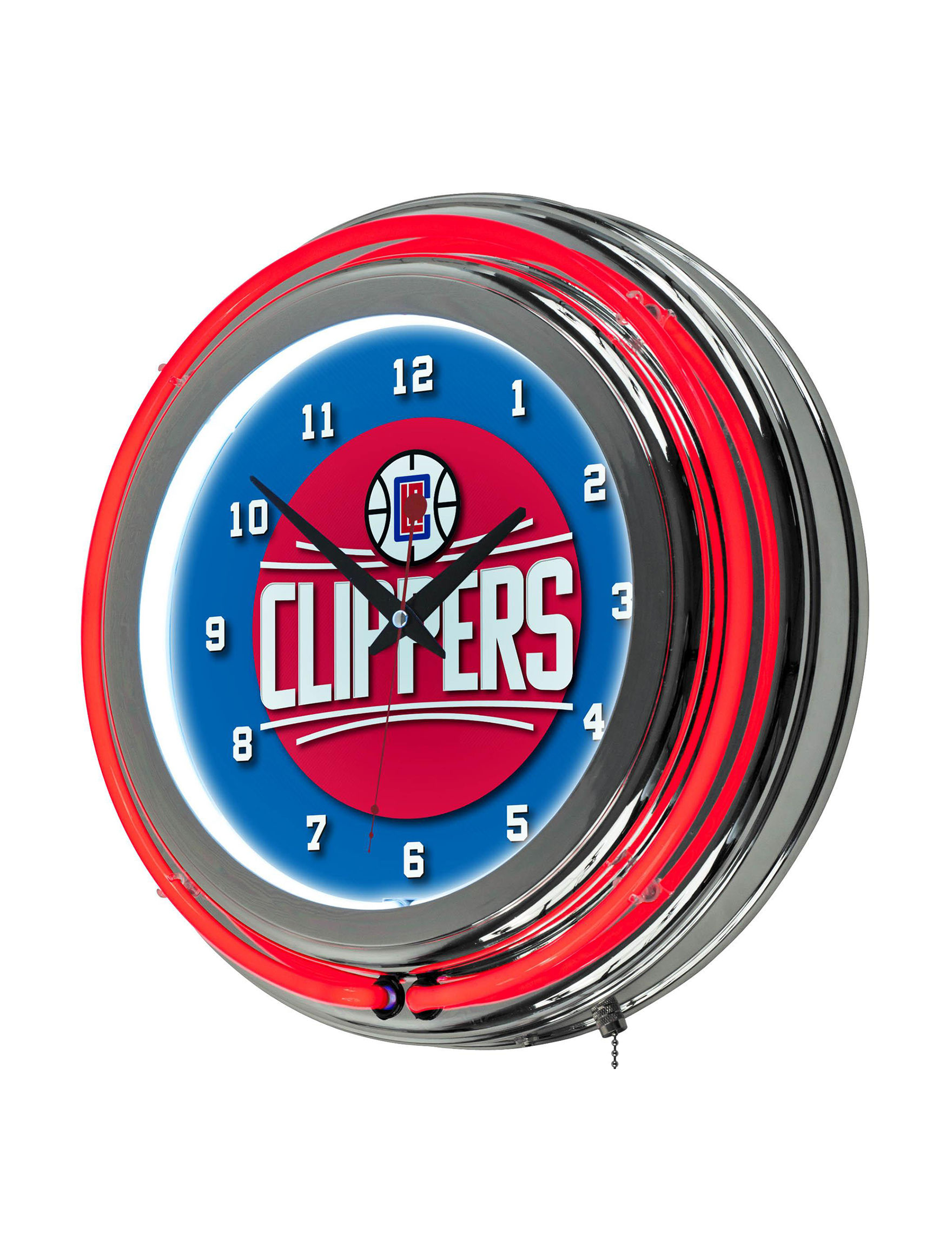 NBA Blue/ Red Home Accents Wall Art Home Accents Wall Decor