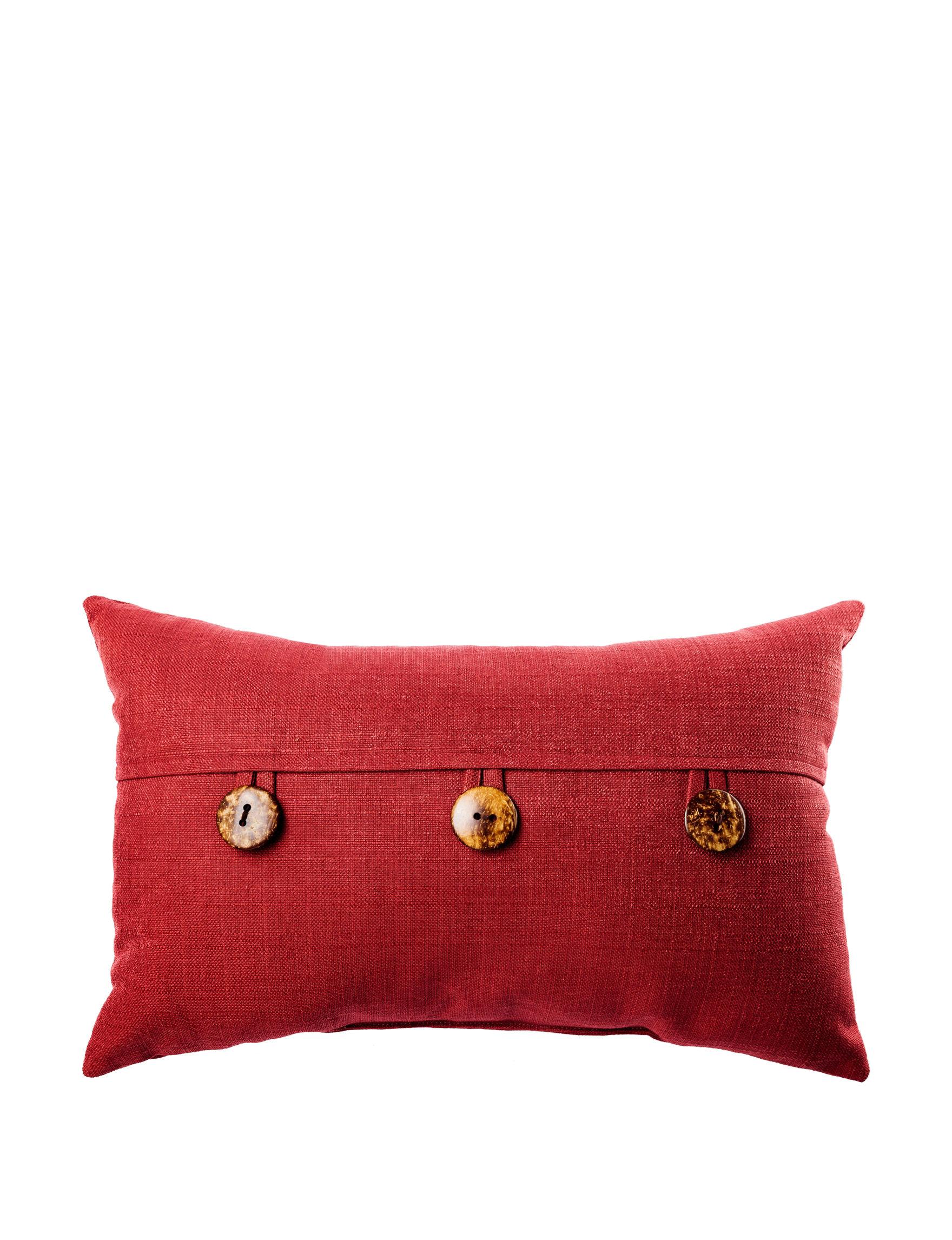Home Fashions International Ruby Decorative Pillows