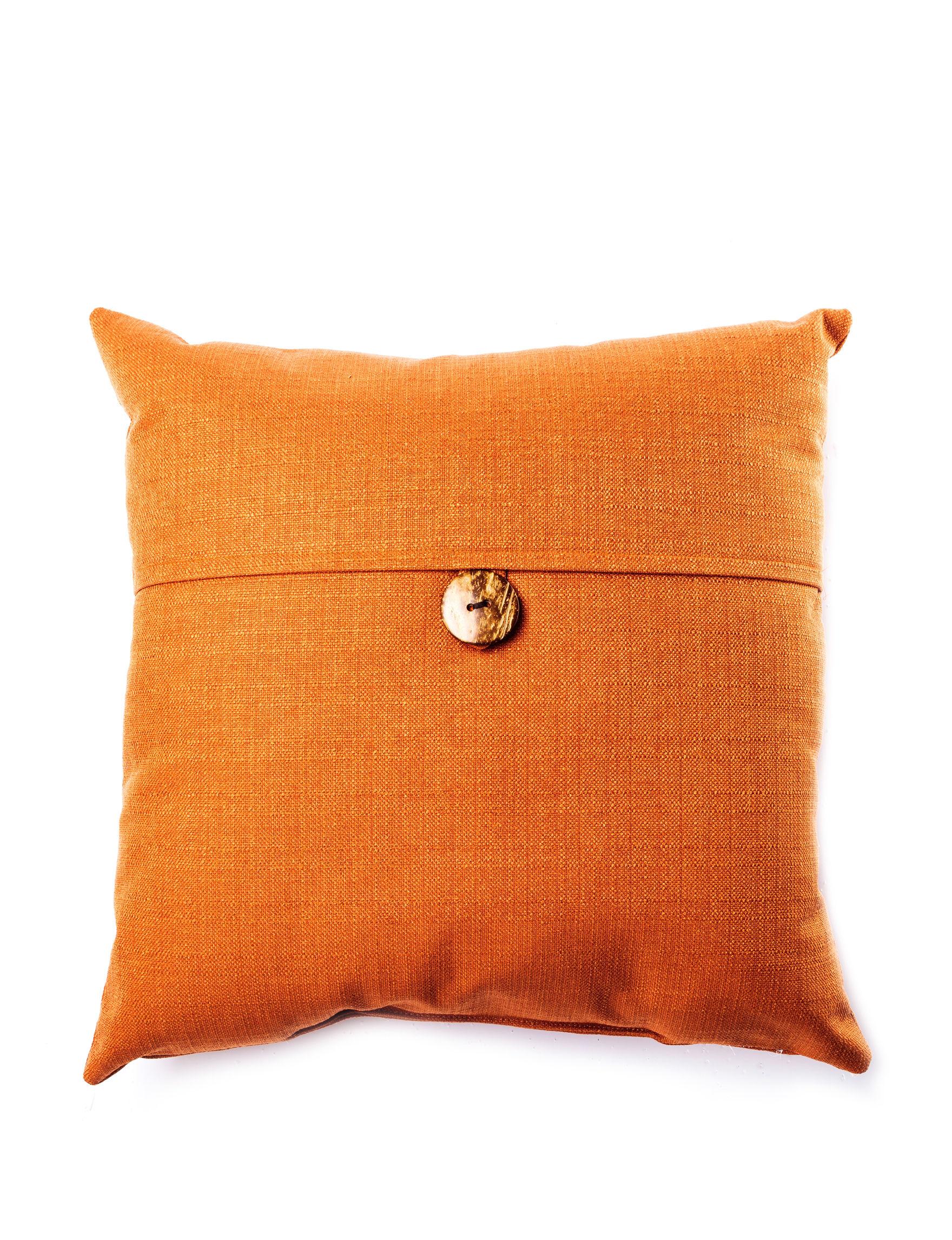 Home Fashions International Tangerine Decorative Pillows