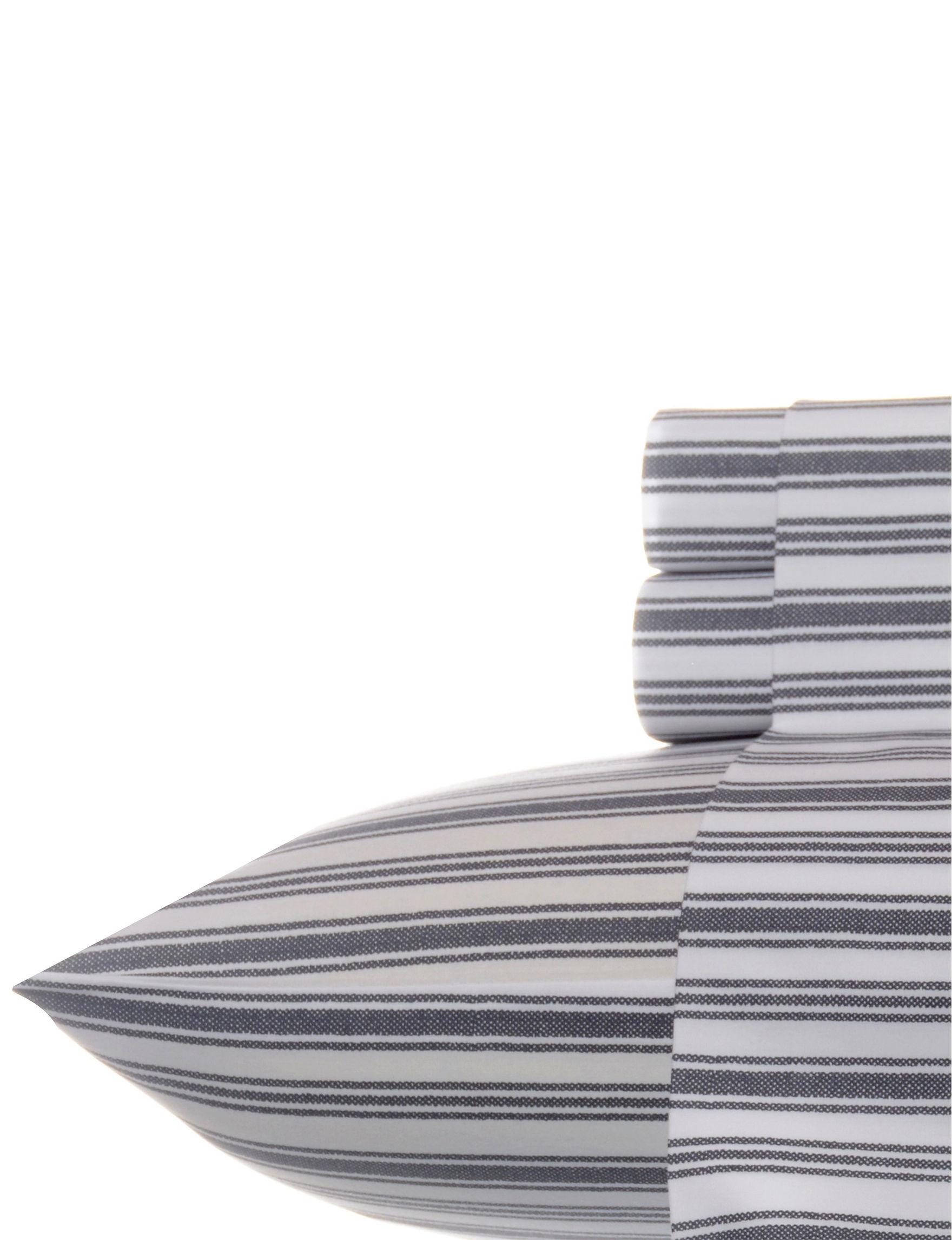Nautica Grey Sheets & Pillowcases