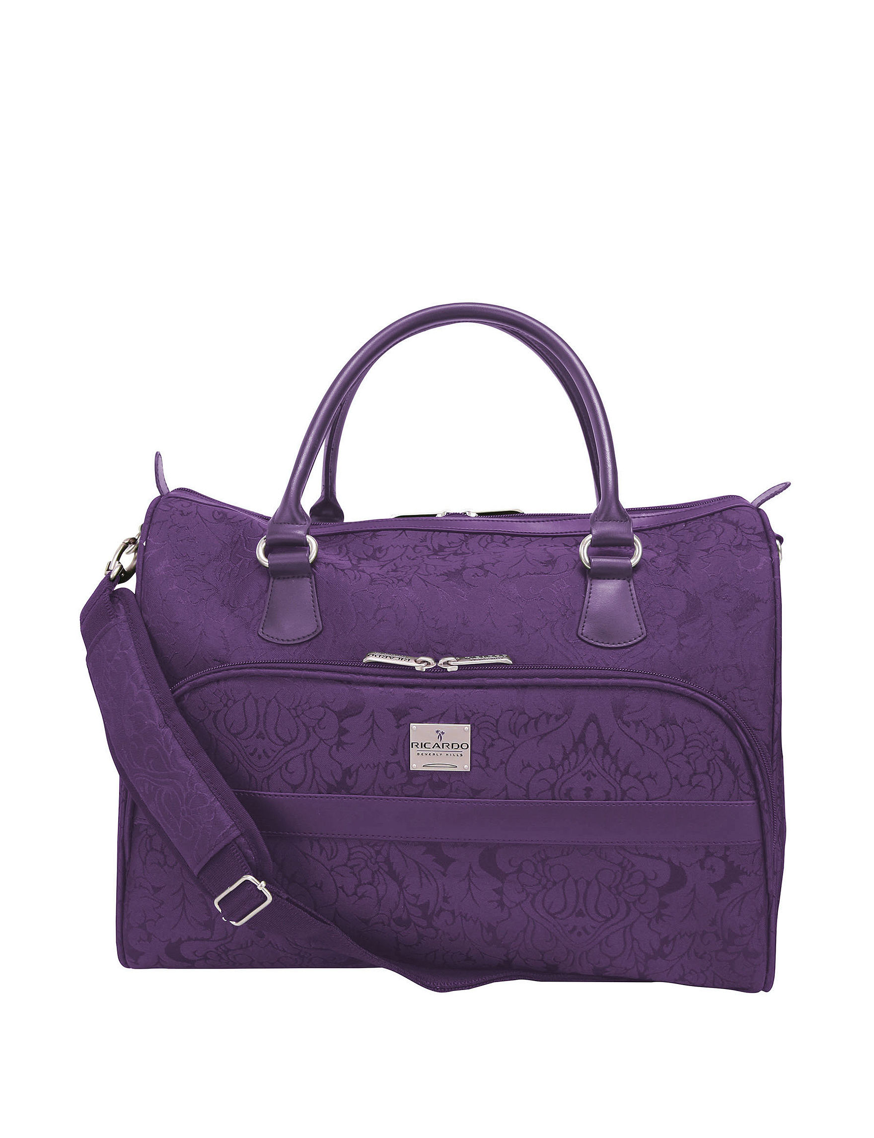 Purple Weekend Bags