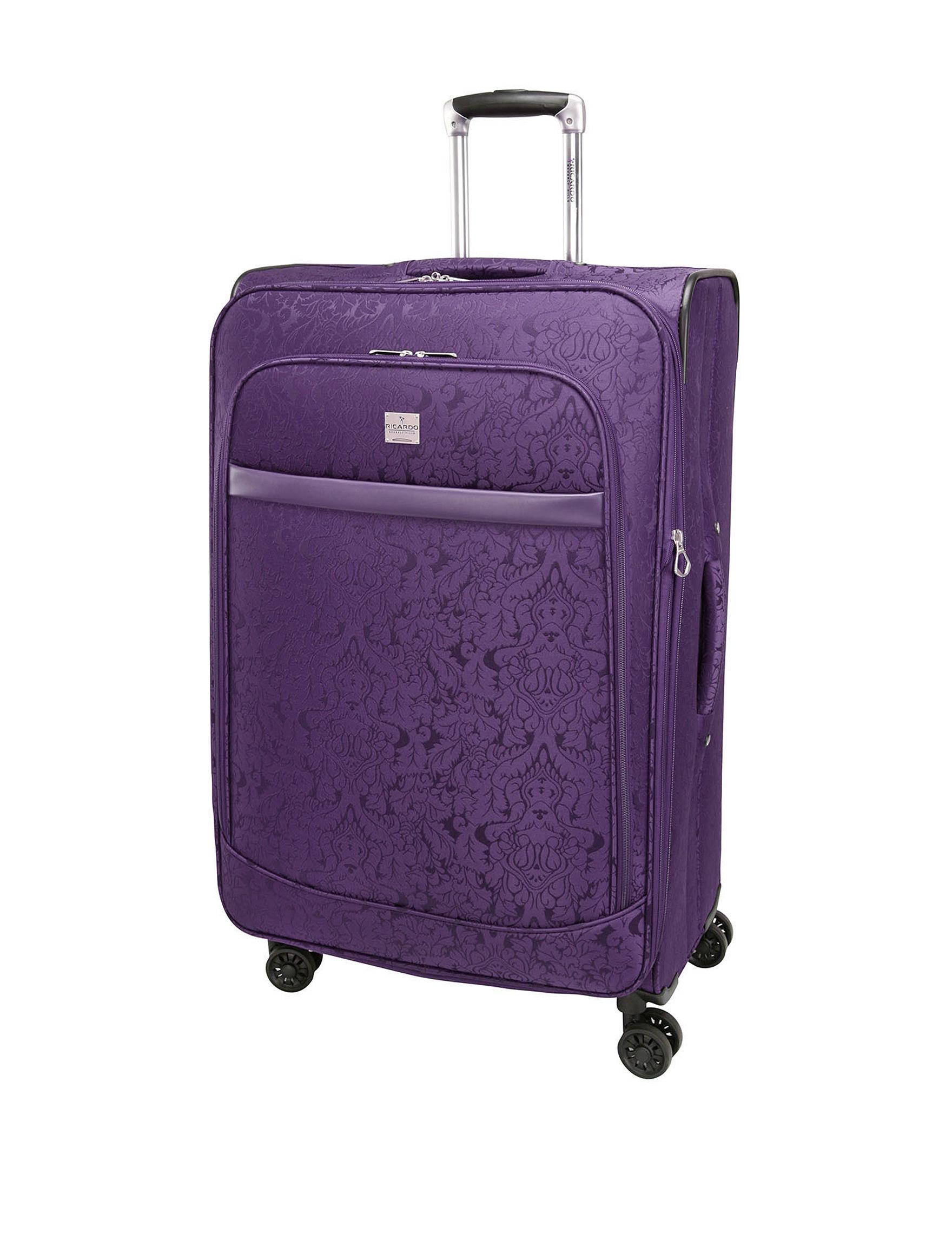 Ricardo Purple Upright Spinners