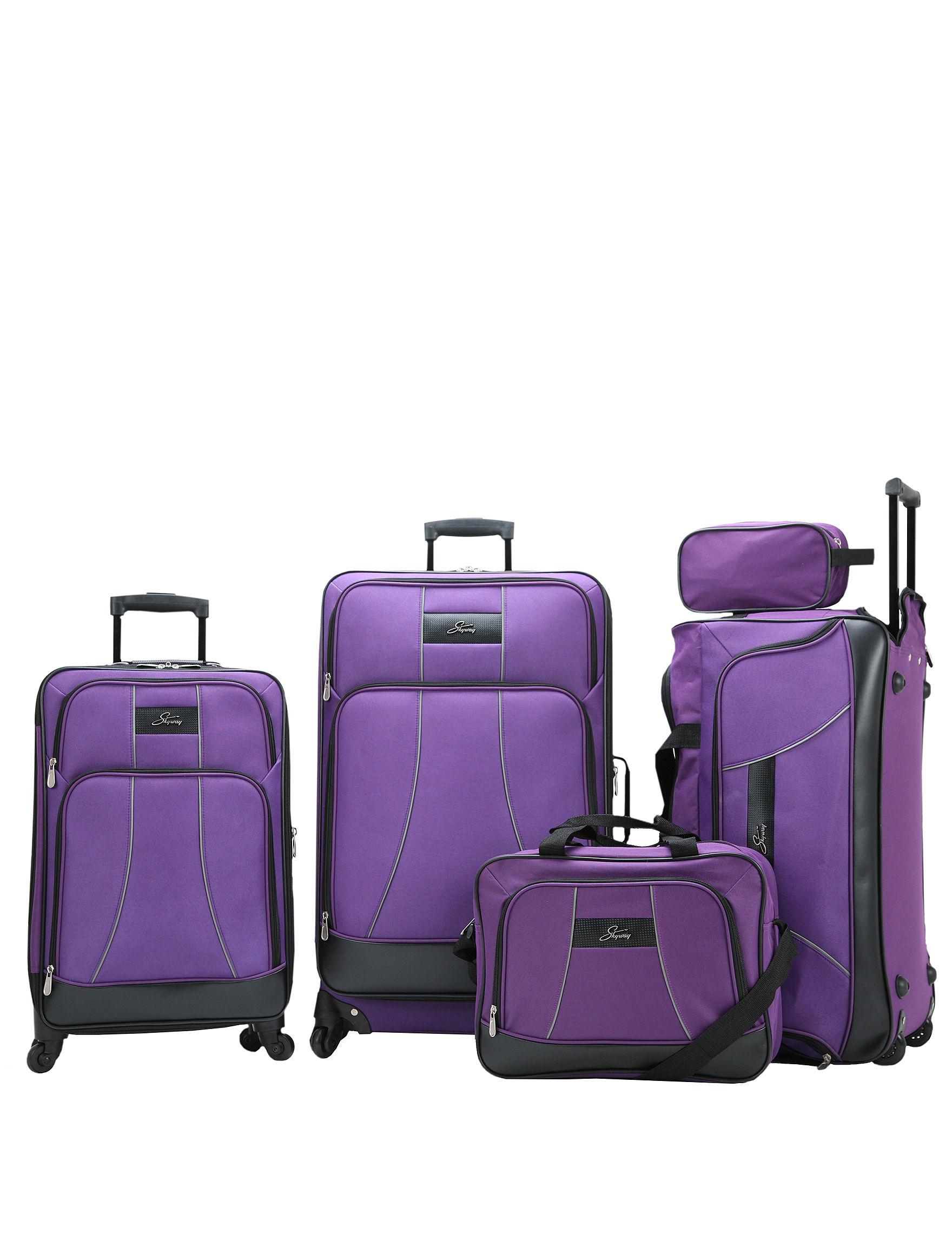 Skyway Purple Luggage Sets