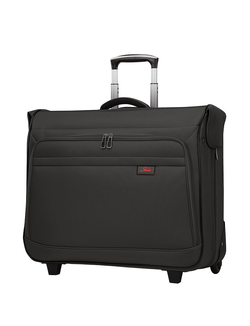 Skyway Black Garment Bags Upright Spinners