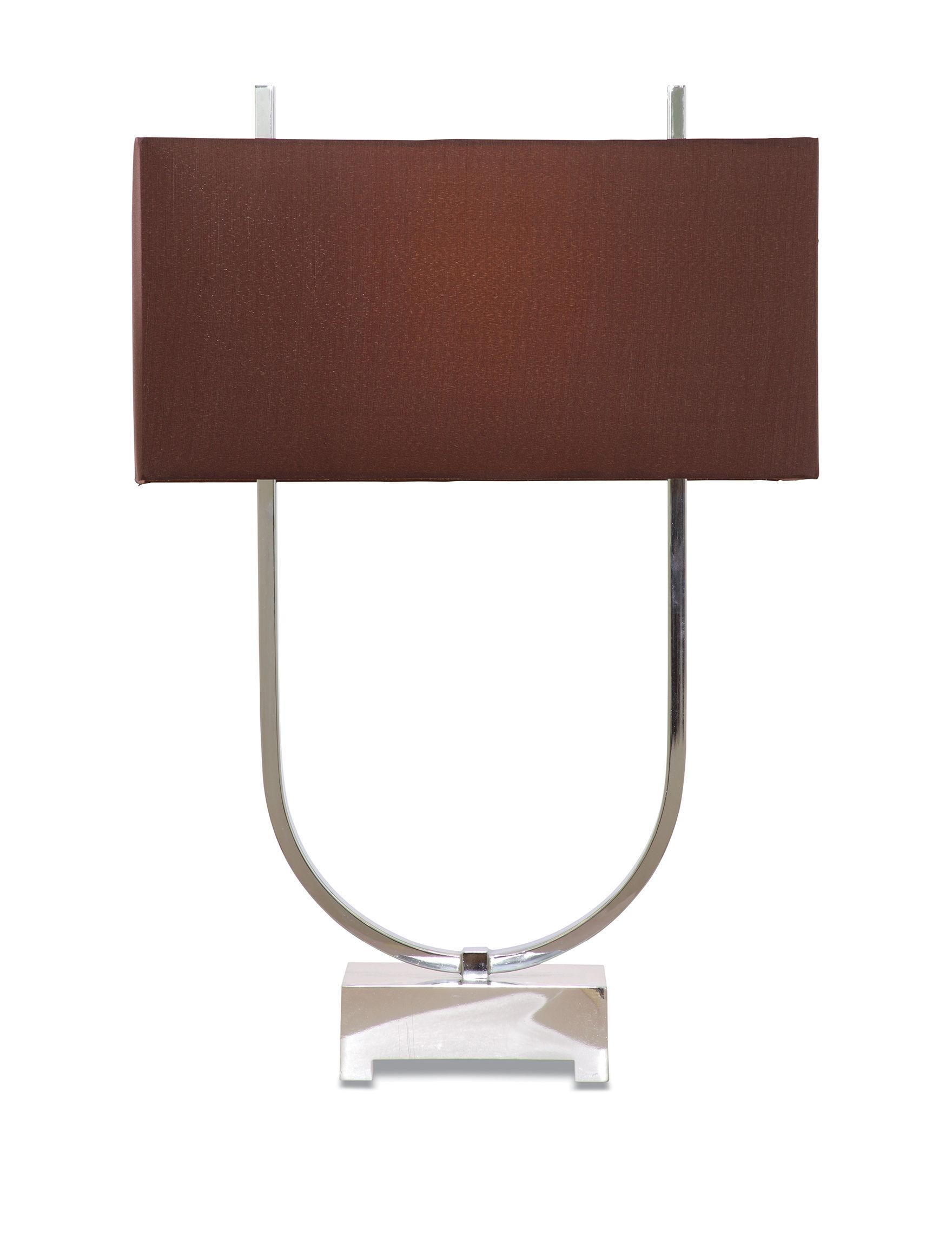 Bassett Mirror Co. Chrome plated Table Lamps Lighting & Lamps