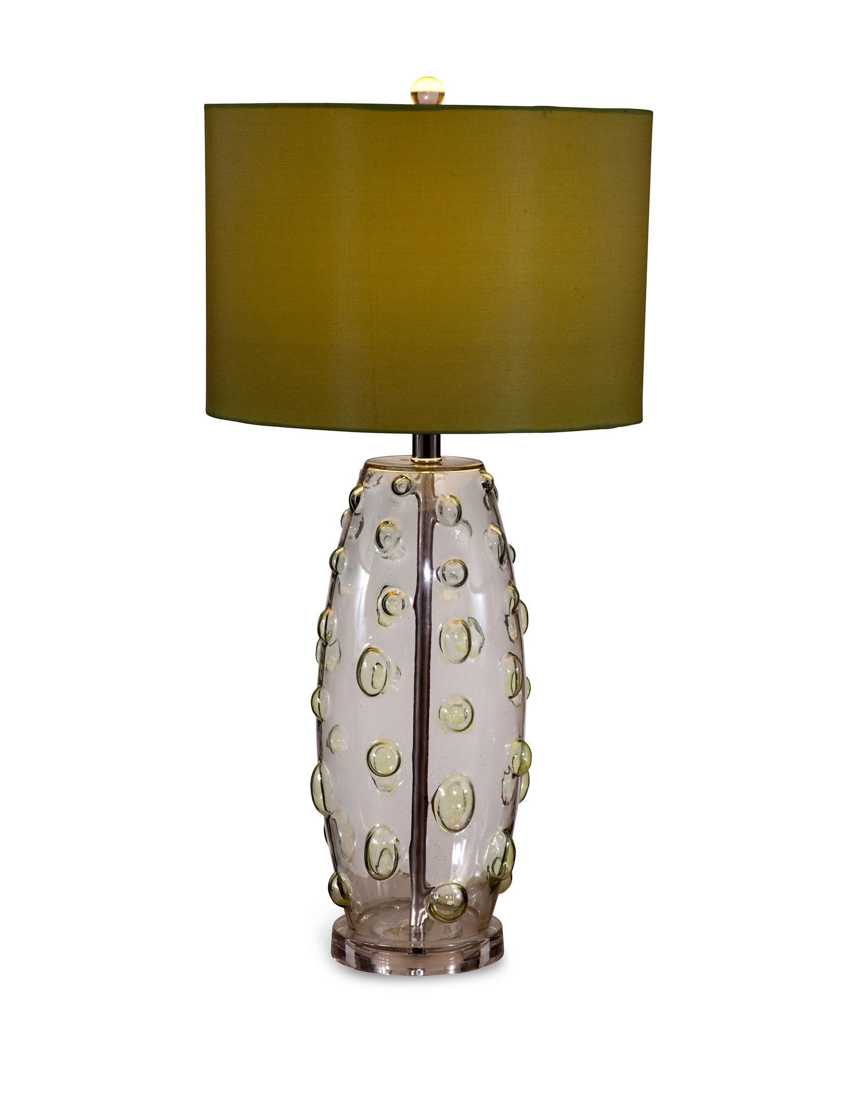 Bassett Mirror Co. Apple Green Table Lamps Lighting & Lamps