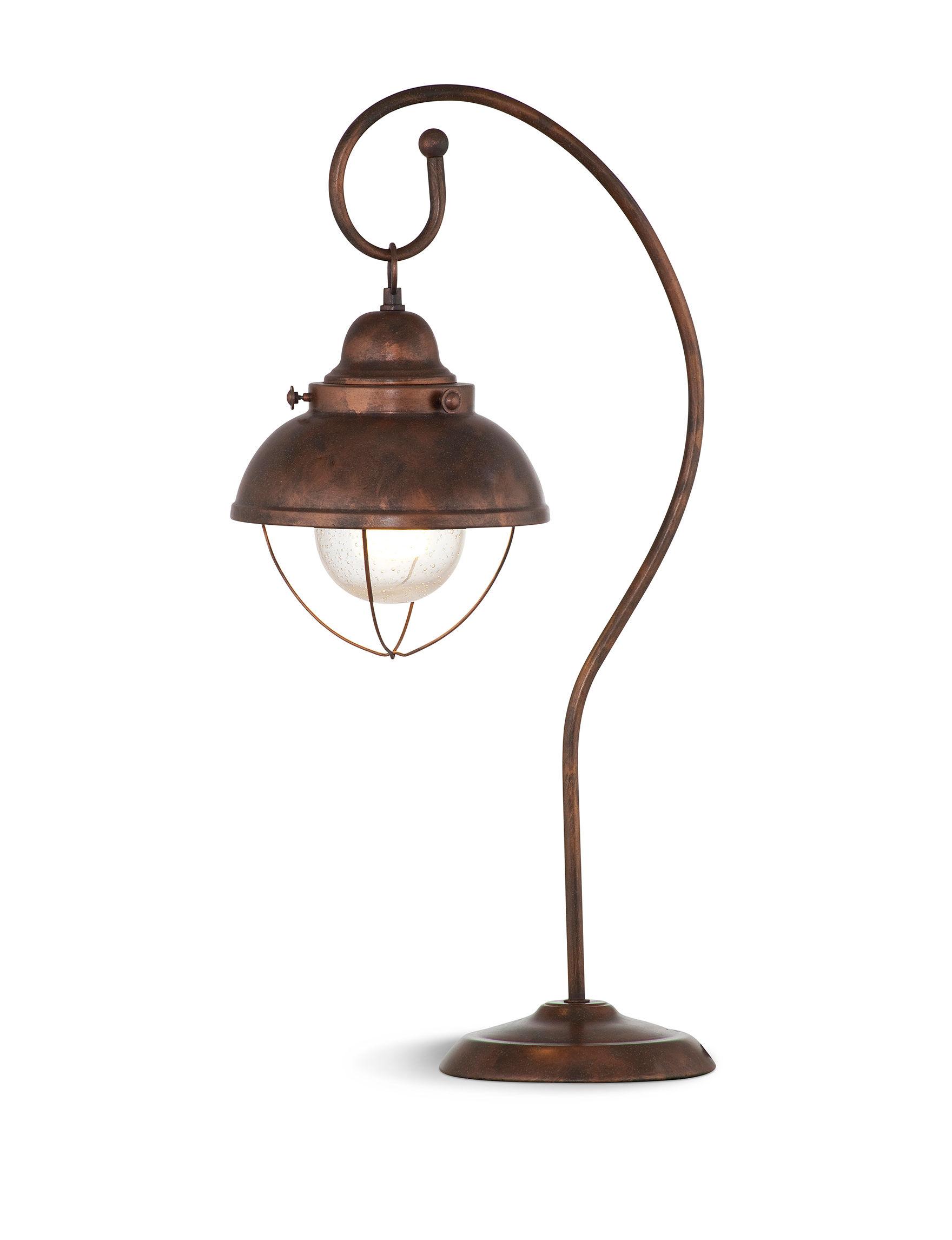 Bassett Mirror Co. Copper Table Lamps Lighting & Lamps