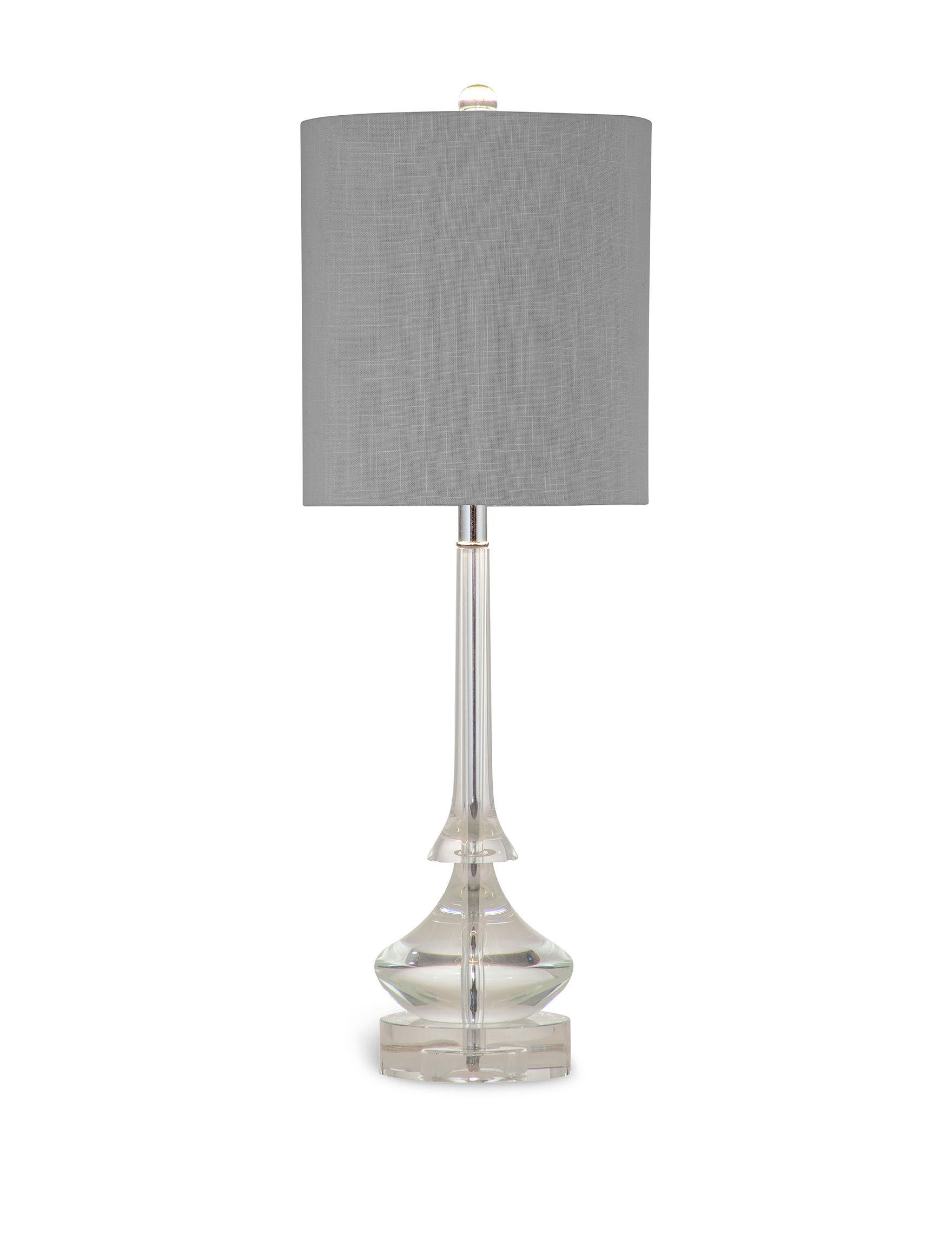 Bassett Mirror Co. Crystal Table Lamps Lighting & Lamps