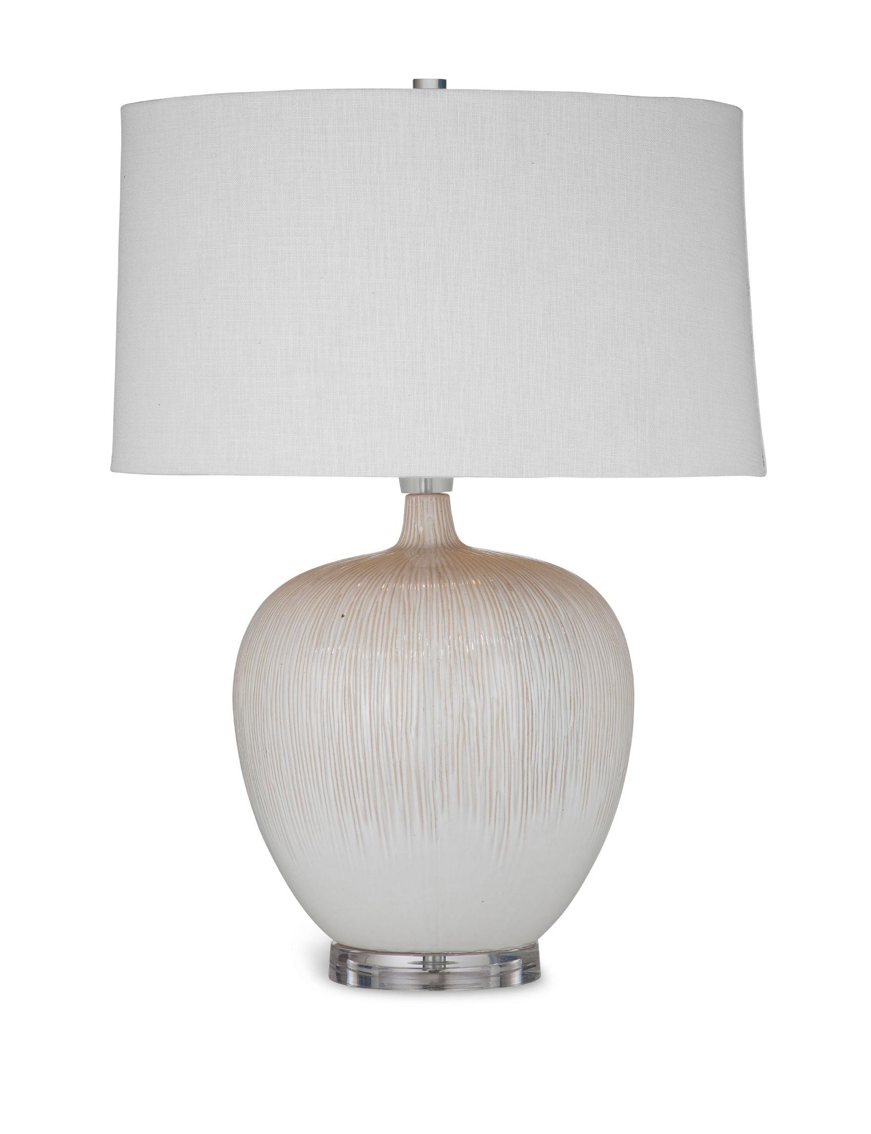 Bassett Mirror Co. Beige Table Lamps Lighting & Lamps