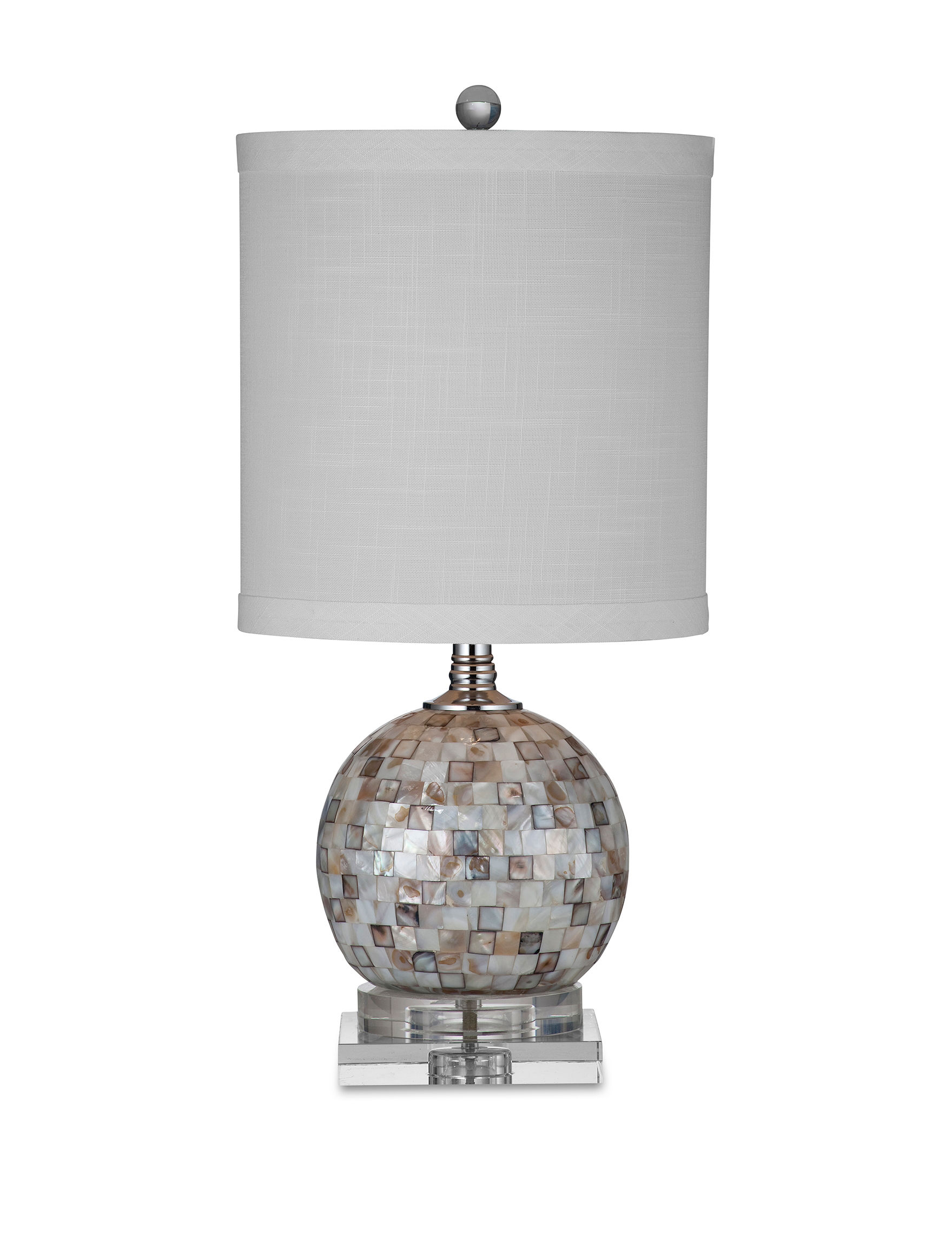 Bassett Mirror Co. Mother of Pearl Table Lamps Lighting & Lamps
