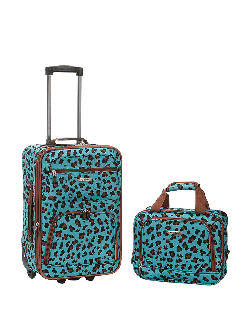 Rockland Leopard Luggage Sets