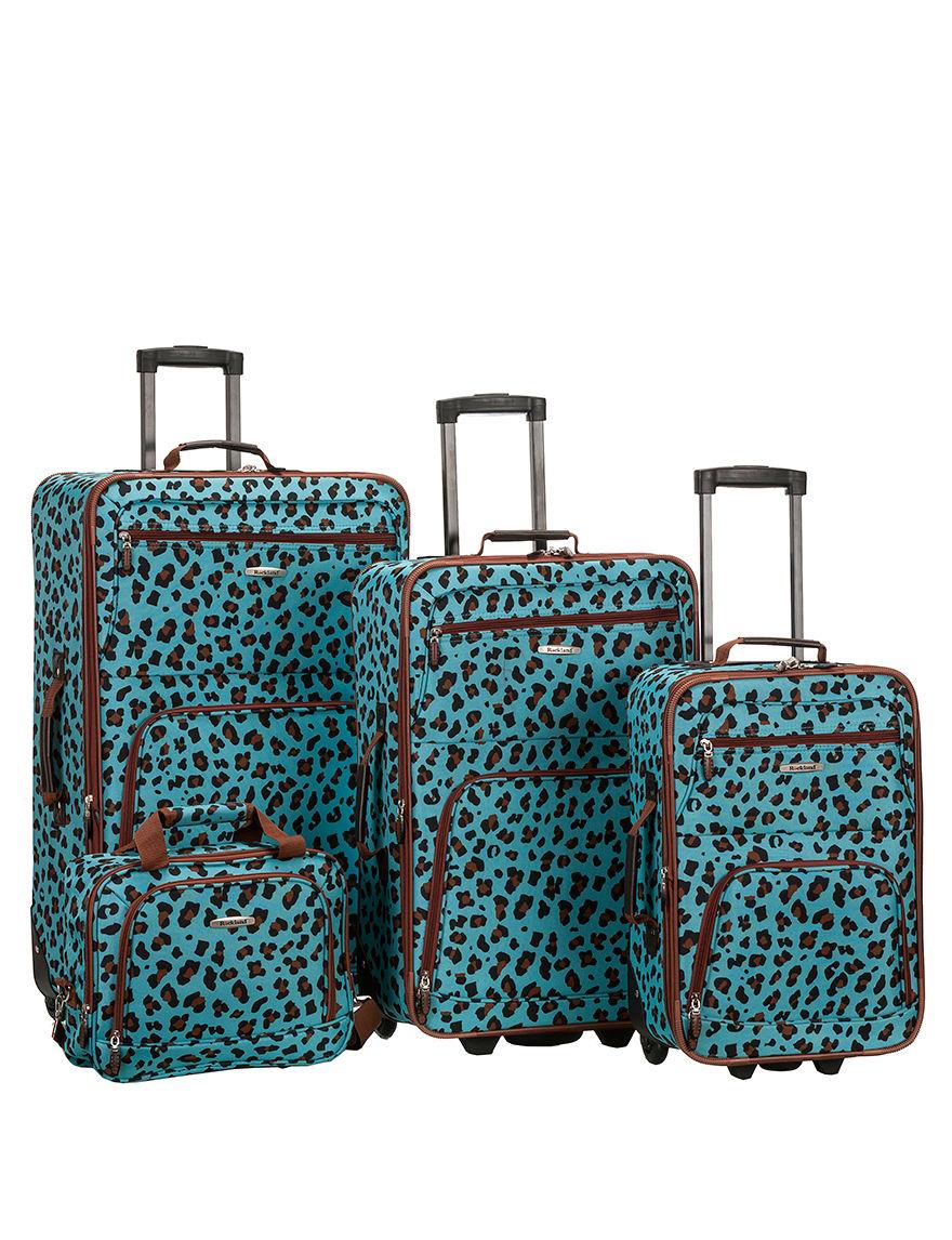 Rockland Blue Luggage Sets