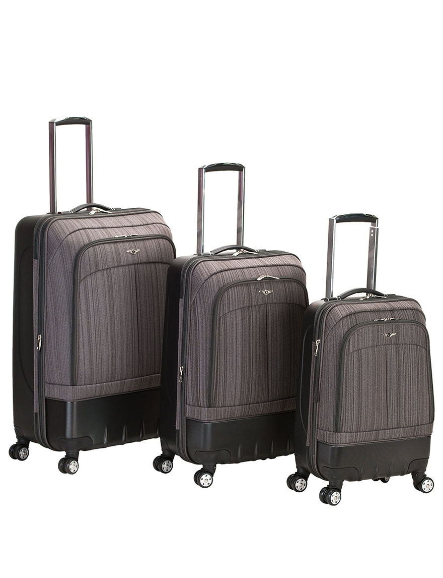Rockland Brown Luggage Sets