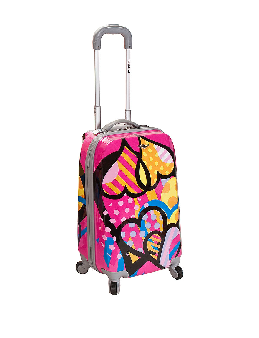 Rockland Pink Multi Upright Spinners