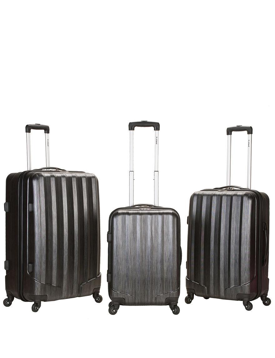 Rockland Charcoal Luggage Sets